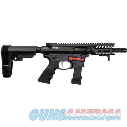 """Falkor Defense FG-9 9mm PCC Pistol 5.5"""" SS Black  Guns > Pistols > F Misc Pistols"""