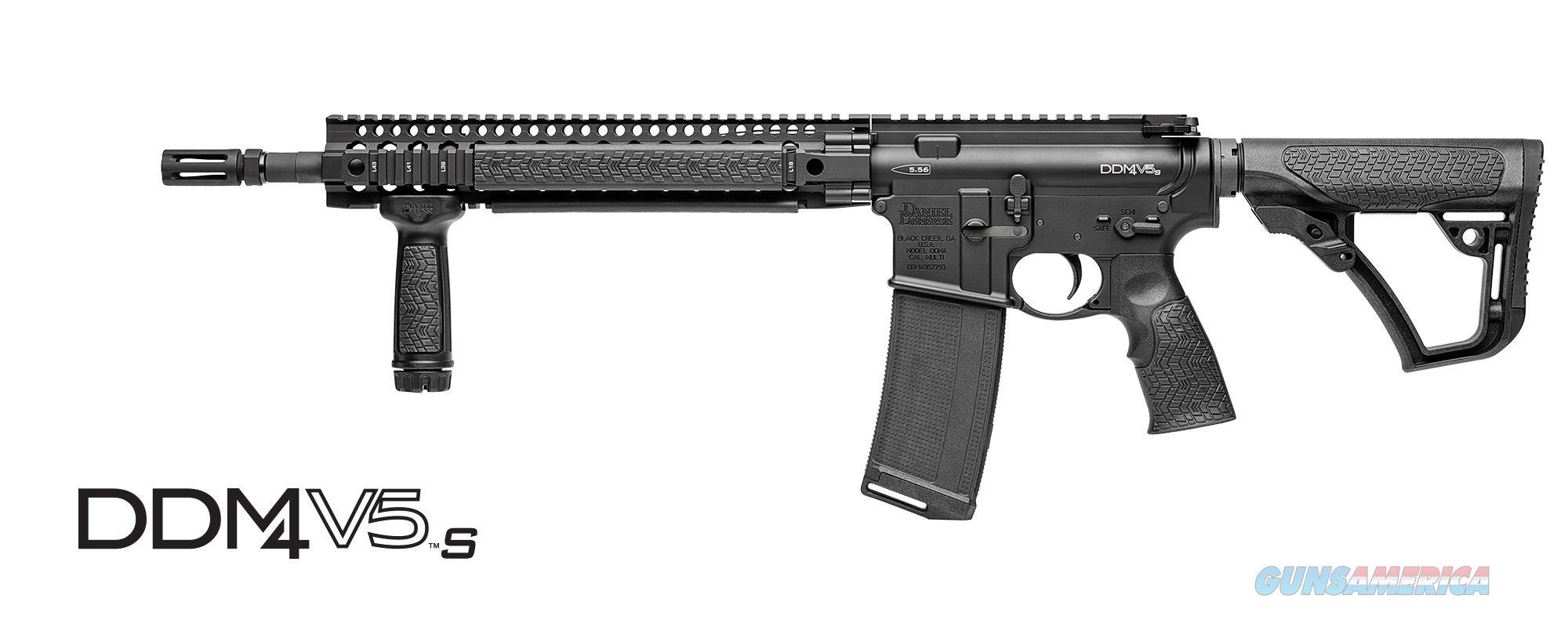 Daniel Defense 02-123-02049-067 DDM4V5 S Semi Auto Rifle 14.5'' Barrel No Magazine LAYAWAY 60 DAYS SAME AS CASH!  Guns > Rifles > Daniel Defense > Complete Rifles