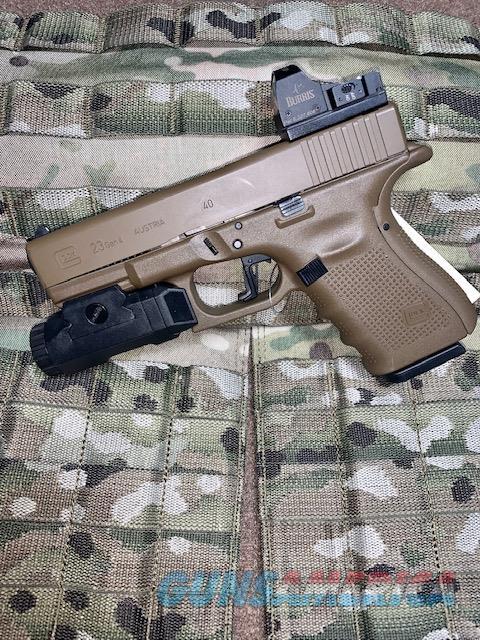 USED GLOCK 23 FDE WITH EXTRAS  Guns > Pistols > Glock Pistols > 23