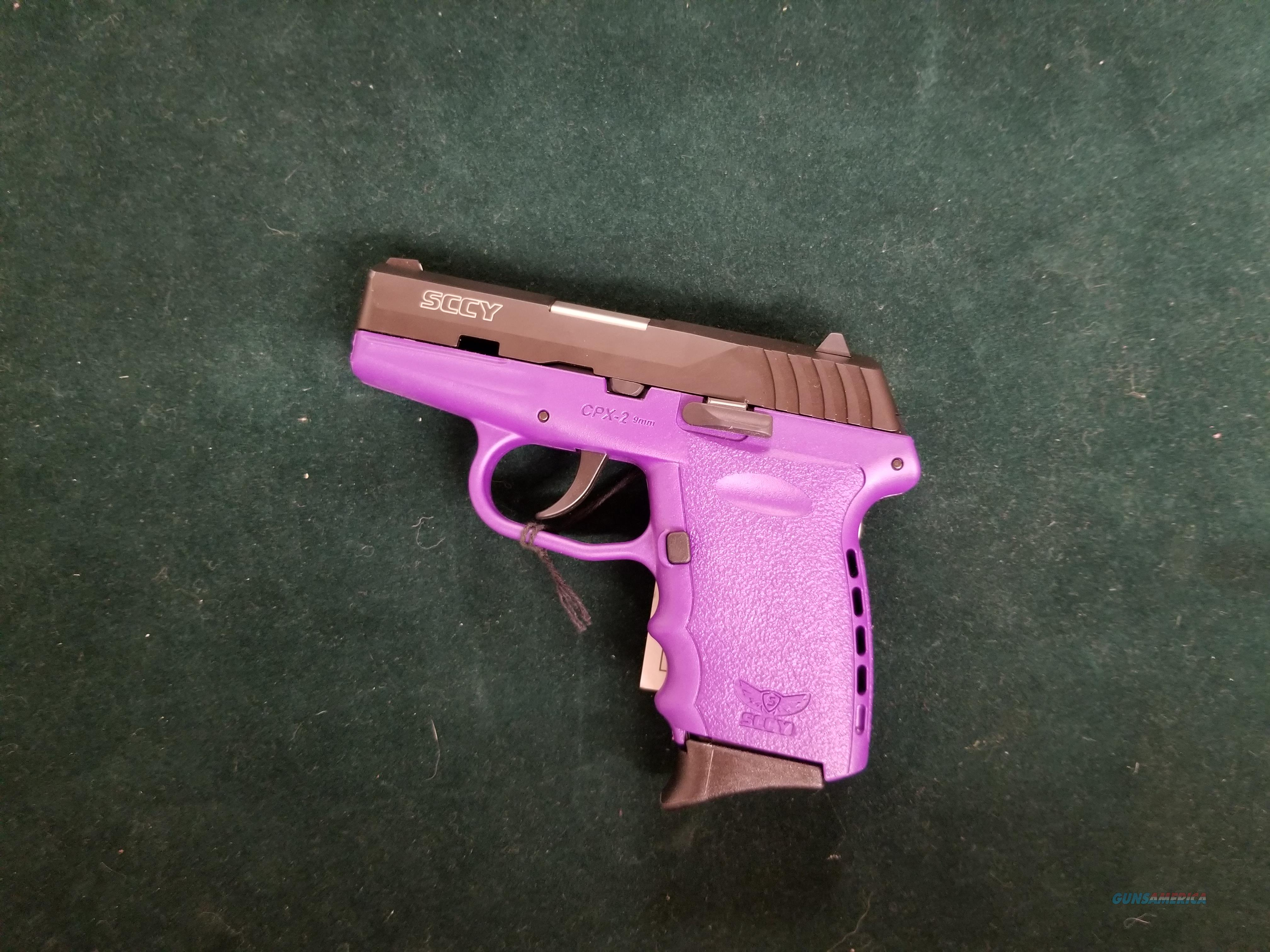 SCCY 9mm in Purple!  Guns > Pistols > SCCY Pistols > CPX2