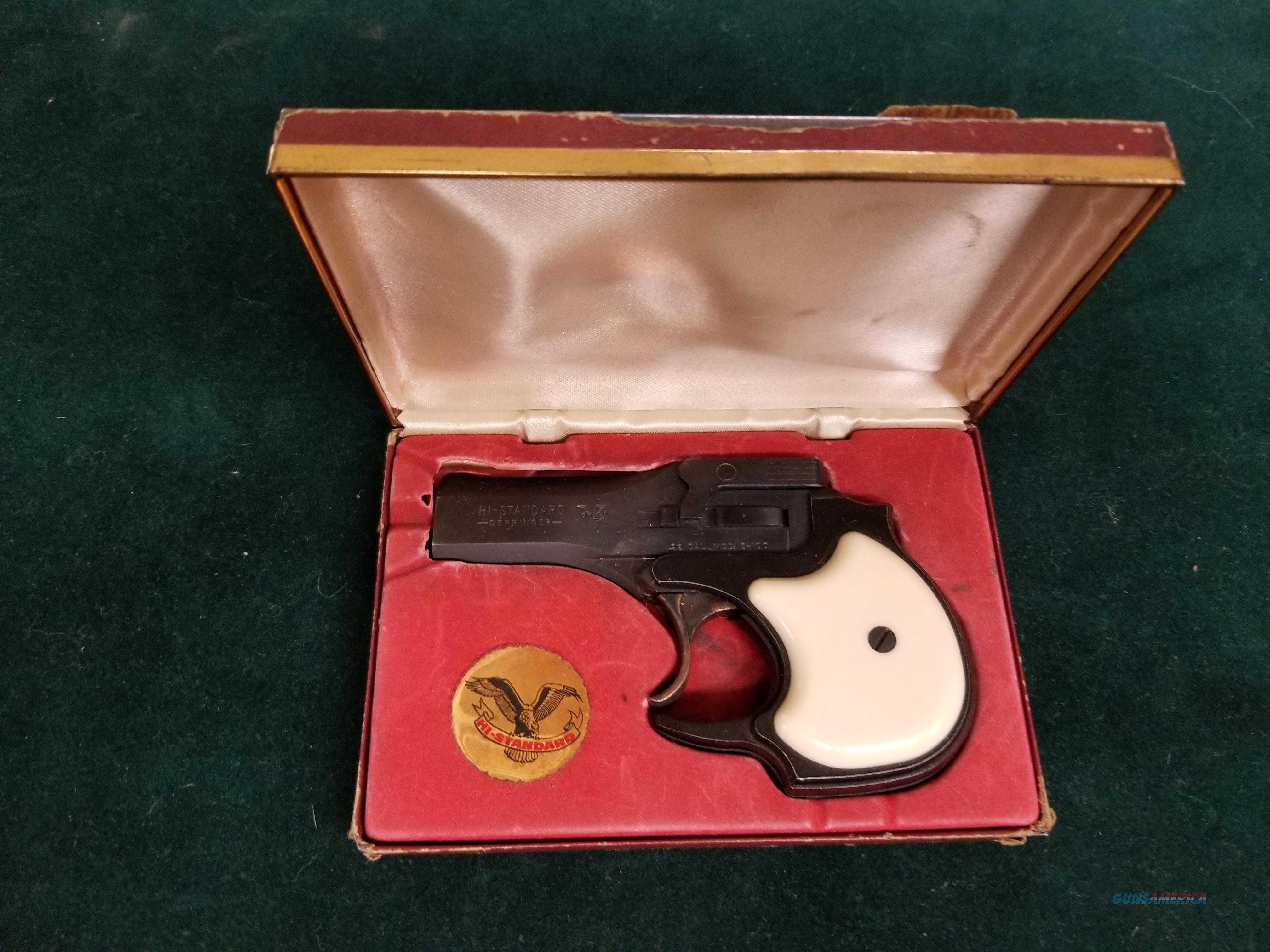 High Standard derringer  Guns > Pistols > High Standard Pistols
