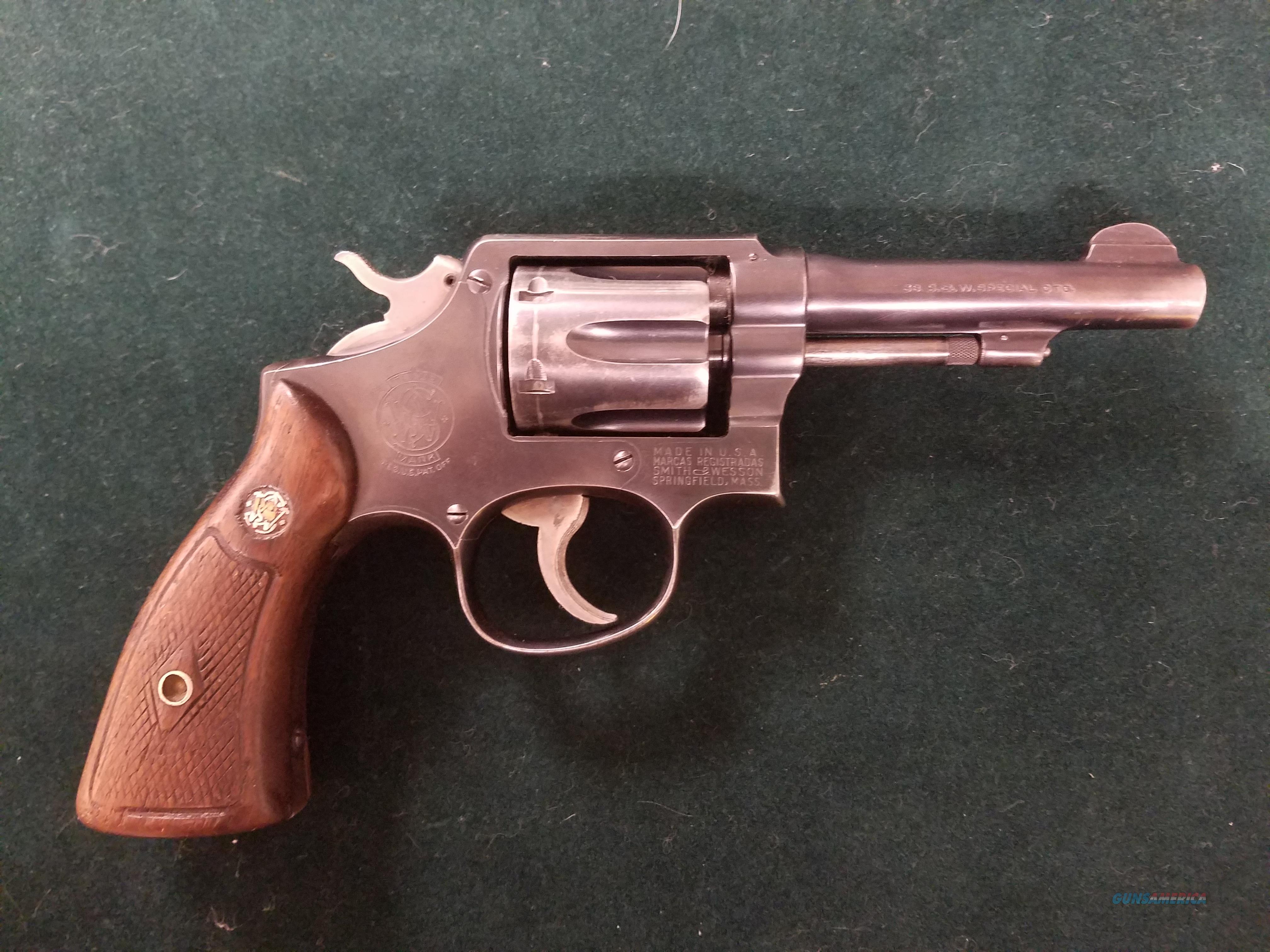 Smith 7 Wesson Pre Model 10  Guns > Pistols > Smith & Wesson Revolvers > Pre-1945