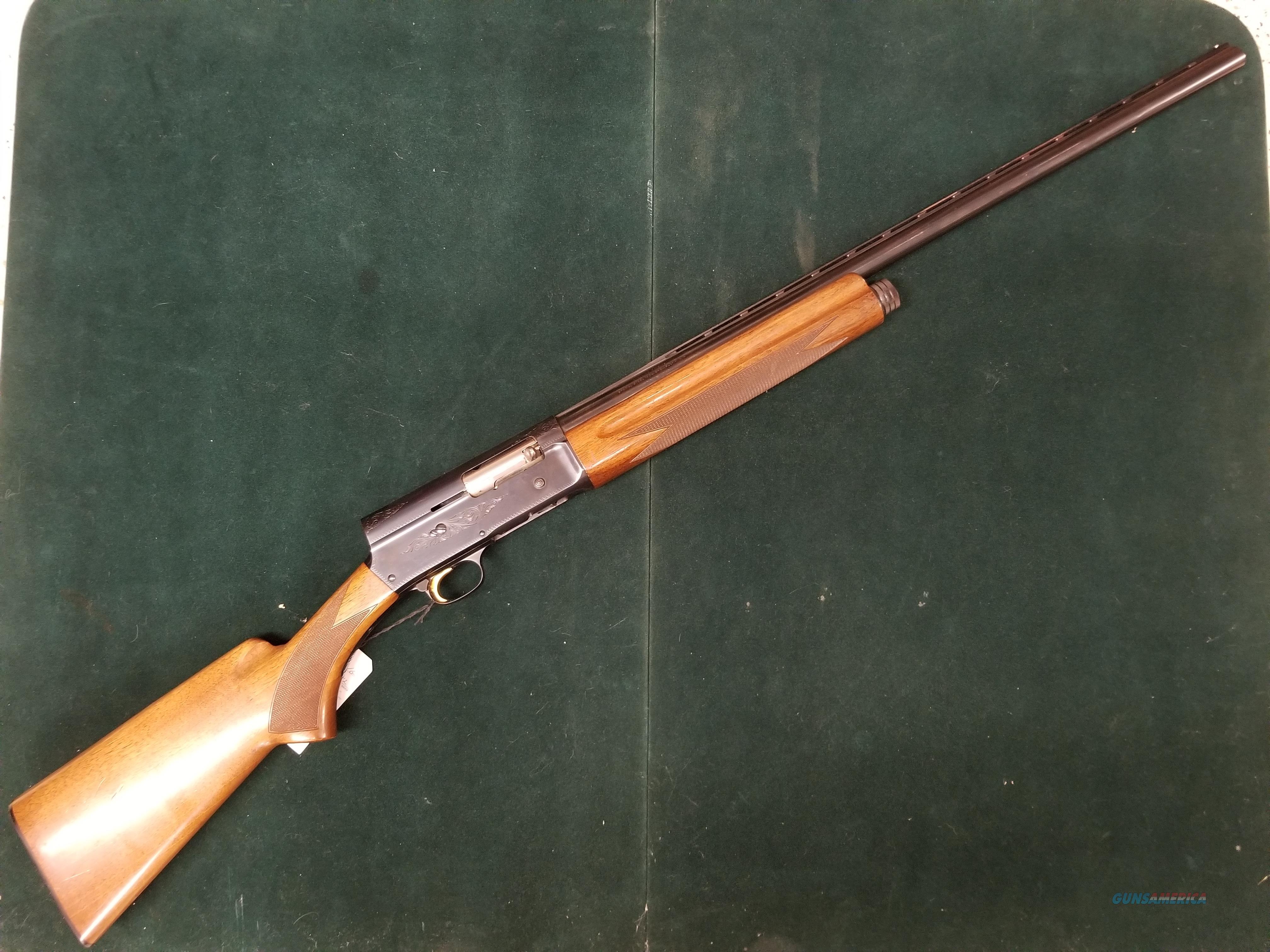 Browning A5 auto Shotgun  Guns > Shotguns > Browning Shotguns > Autoloaders > Hunting