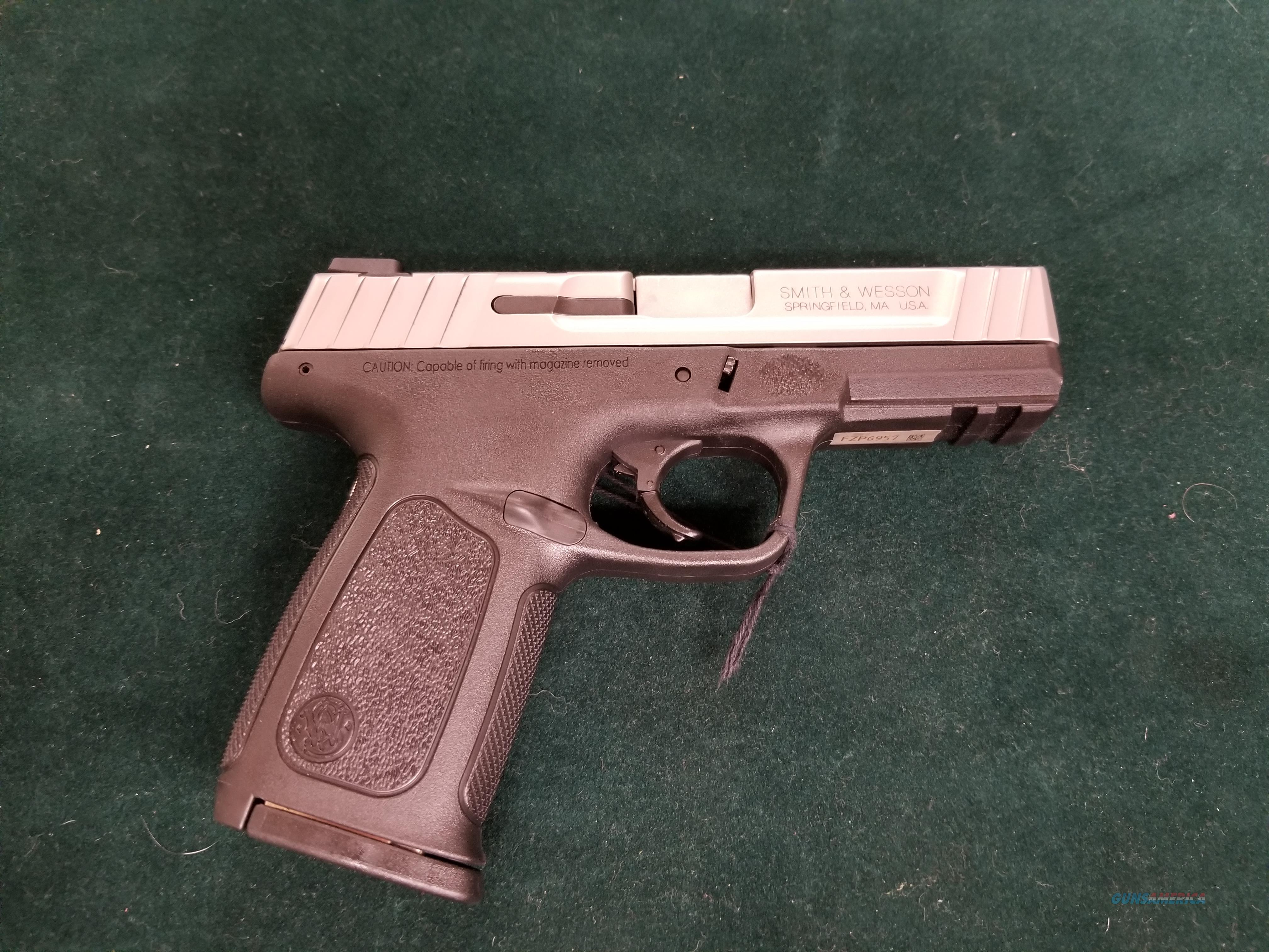 40 S&W by Smith and Wesson  Guns > Pistols > Smith & Wesson Pistols - Autos > Polymer Frame