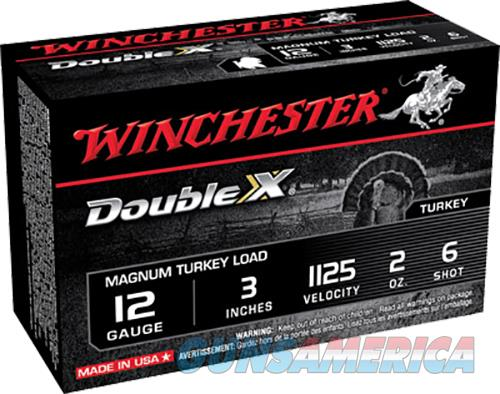 Winchester Double X 12 GA Magnum Turkey Load, 3 in, 1125 fps, 2oz, #6 Shot , 10 Rd/Bx  Non-Guns > Ammunition