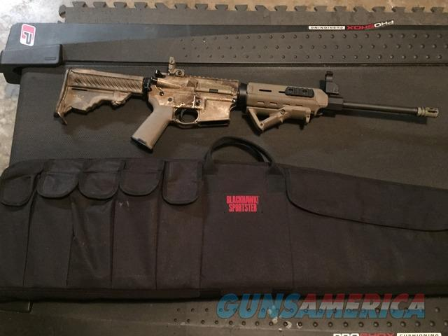 DPMS AR-15 with ammo, case, and magazines  Guns > Rifles > DPMS - Panther Arms > Complete Rifle