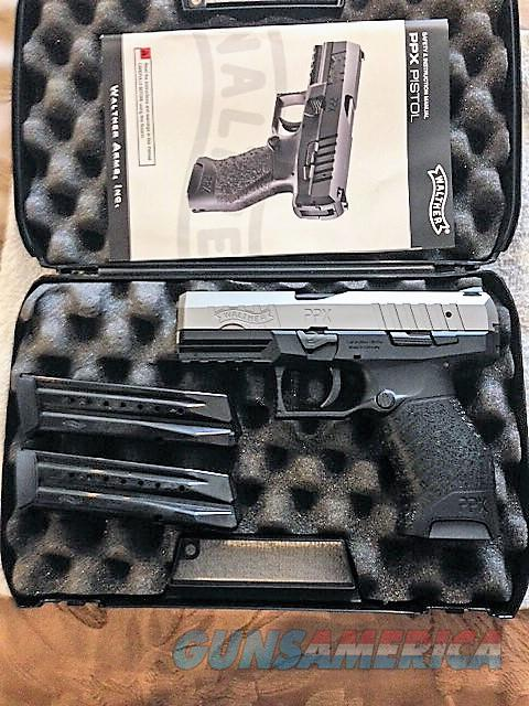 Walther  stainless steel PPX  Guns > Pistols > Walther Pistols > Post WWII > PPX