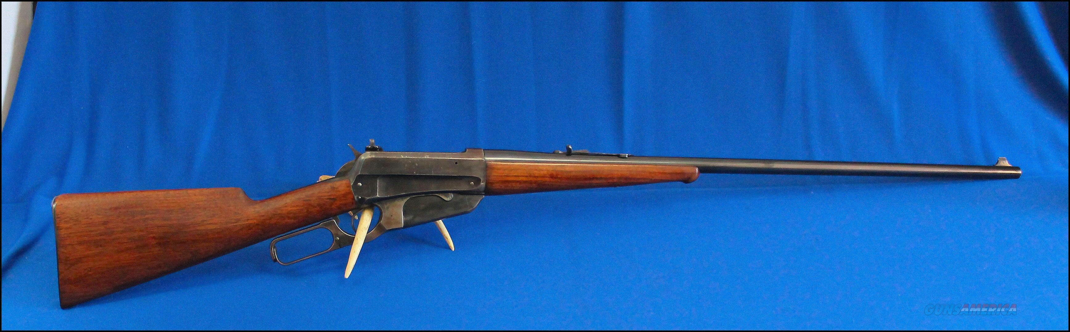 Winchester 1895 Sporting Rifle 30 U.S. - Lyman 21 - 30-40 Krag -Mfg 1902   Guns > Rifles > Winchester Rifles - Modern Lever > Other Lever > Pre-64