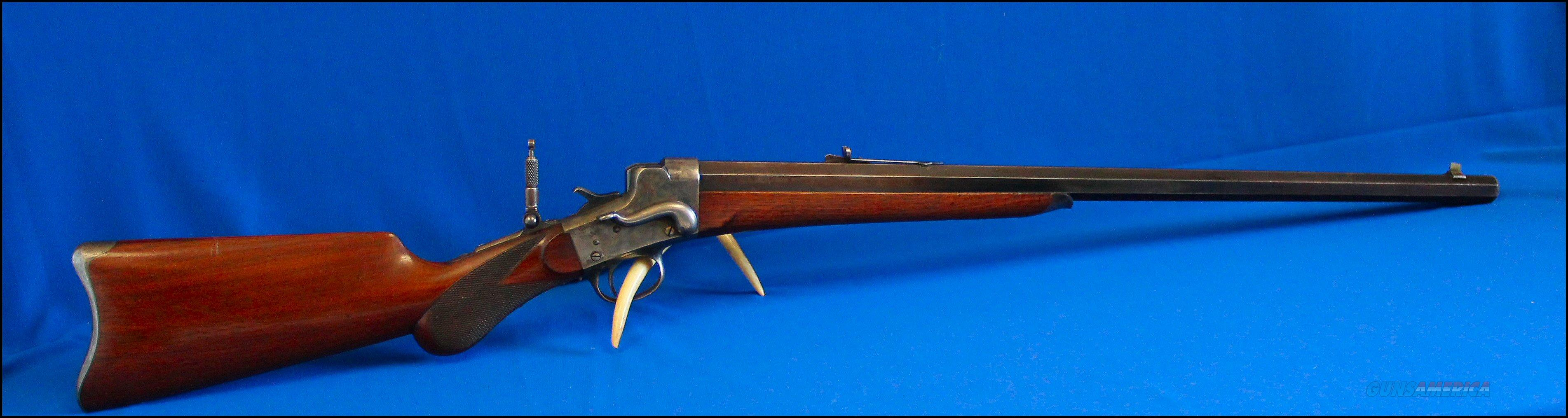 Remington Hepburn No. 3 Sporting & Target Single Shot Rifle, cal. 32-40  Guns > Rifles > Remington Rifles - Pre-1899