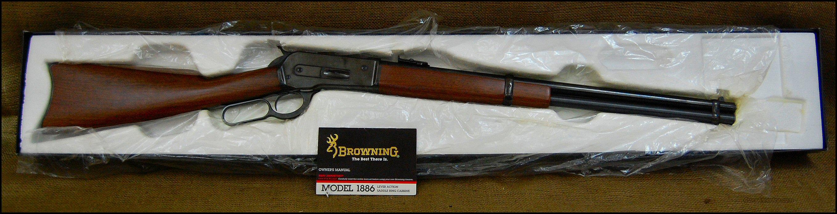 Browning - Winchester 1886 Saddle Ring Carbine SRC 45-70 NIB Unfired  Guns > Rifles > Browning Rifles > Lever Action