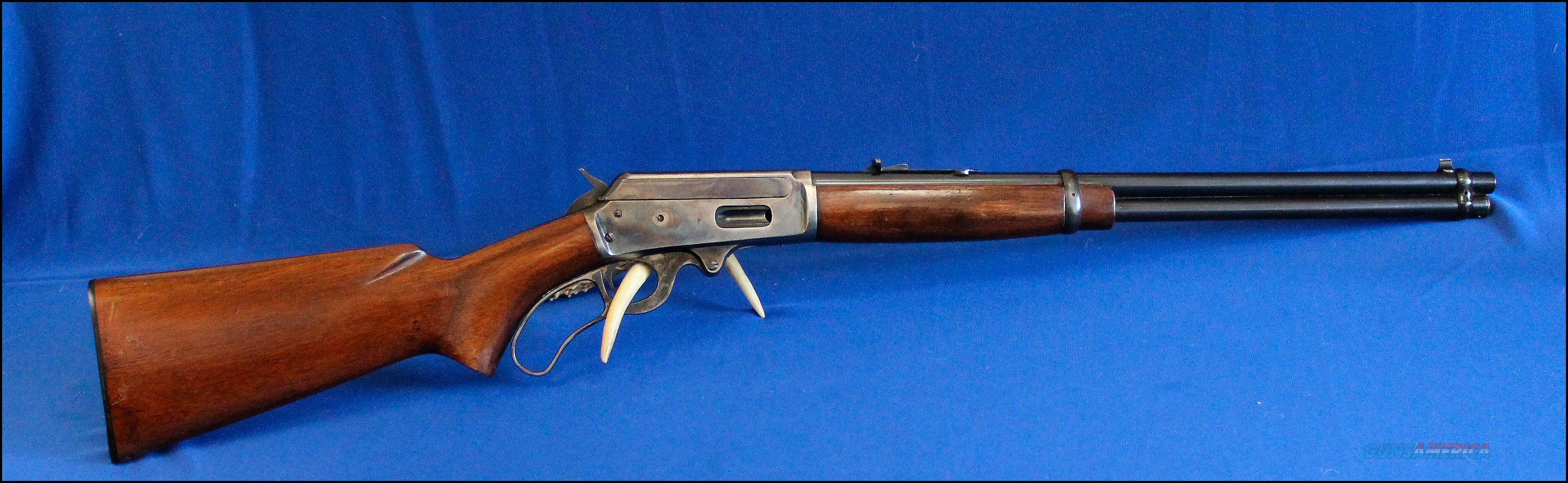 Marlin Model 1936 1st Variation 30-30 Brilliant Case Colors!   Guns > Rifles > Marlin Rifles > Modern > Lever Action