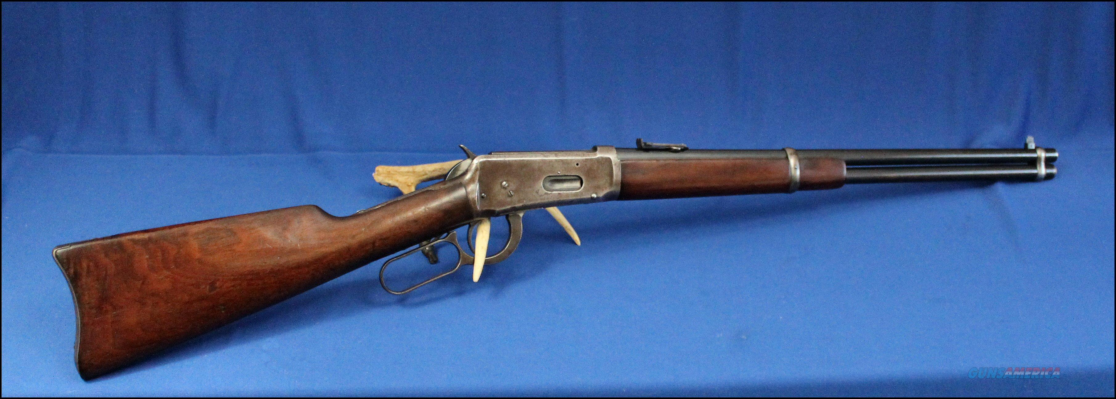 Winchester 1894 Saddle Ring Carbine SRC 30-30   Mfg. 1915 Pre War   Guns > Rifles > Winchester Rifles - Modern Lever > Model 94 > Pre-64