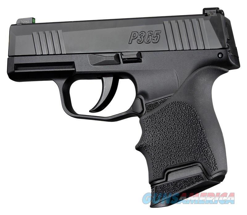 Hogue HandAll Beavertail Grip Sleeve Sig Sauer P365 Black 18700  Non-Guns > Gun Parts > Grips > Other