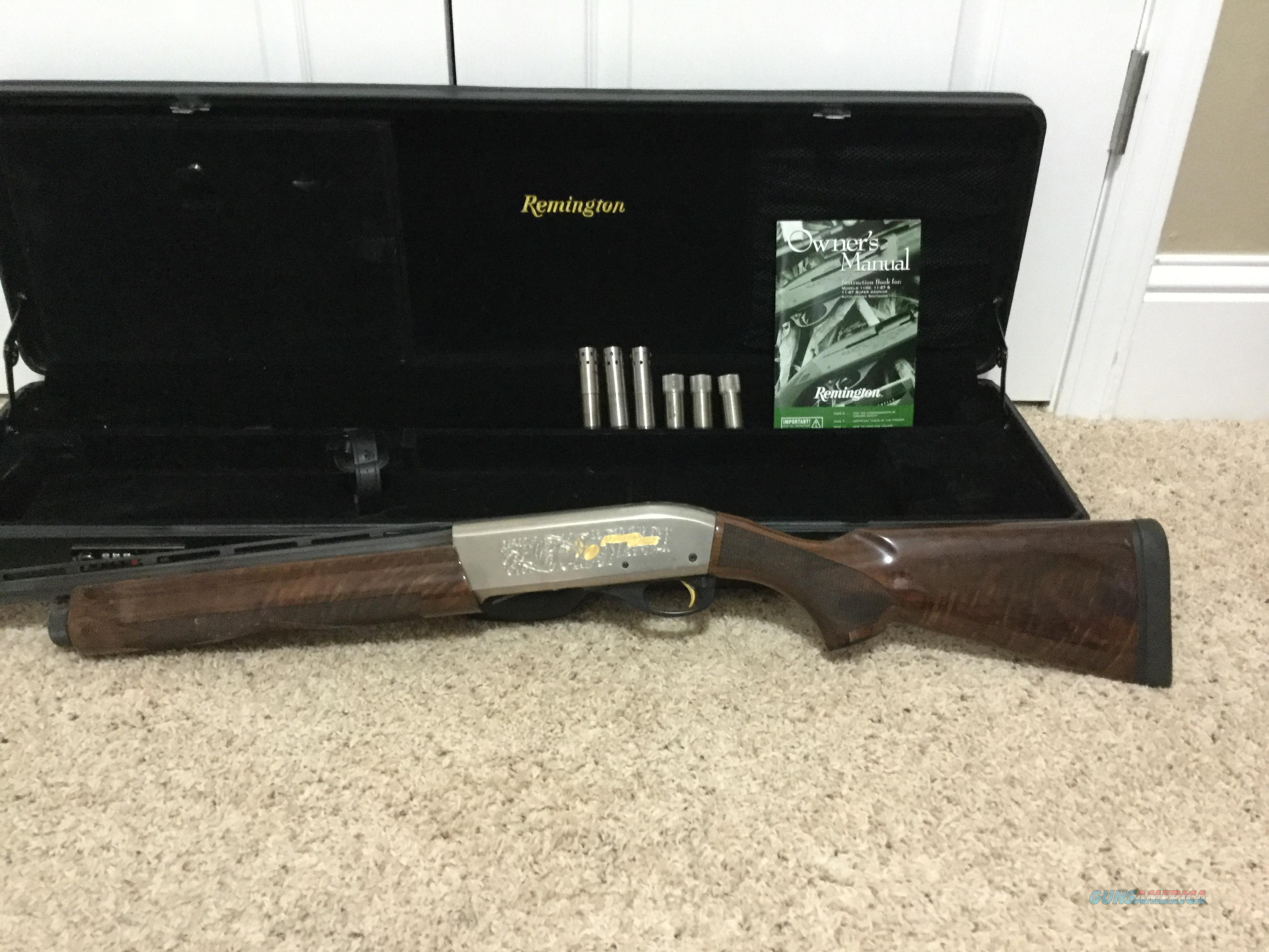 Remington premier sporting 1100   Guns > Shotguns > Remington Shotguns  > Autoloaders > Trap/Skeet
