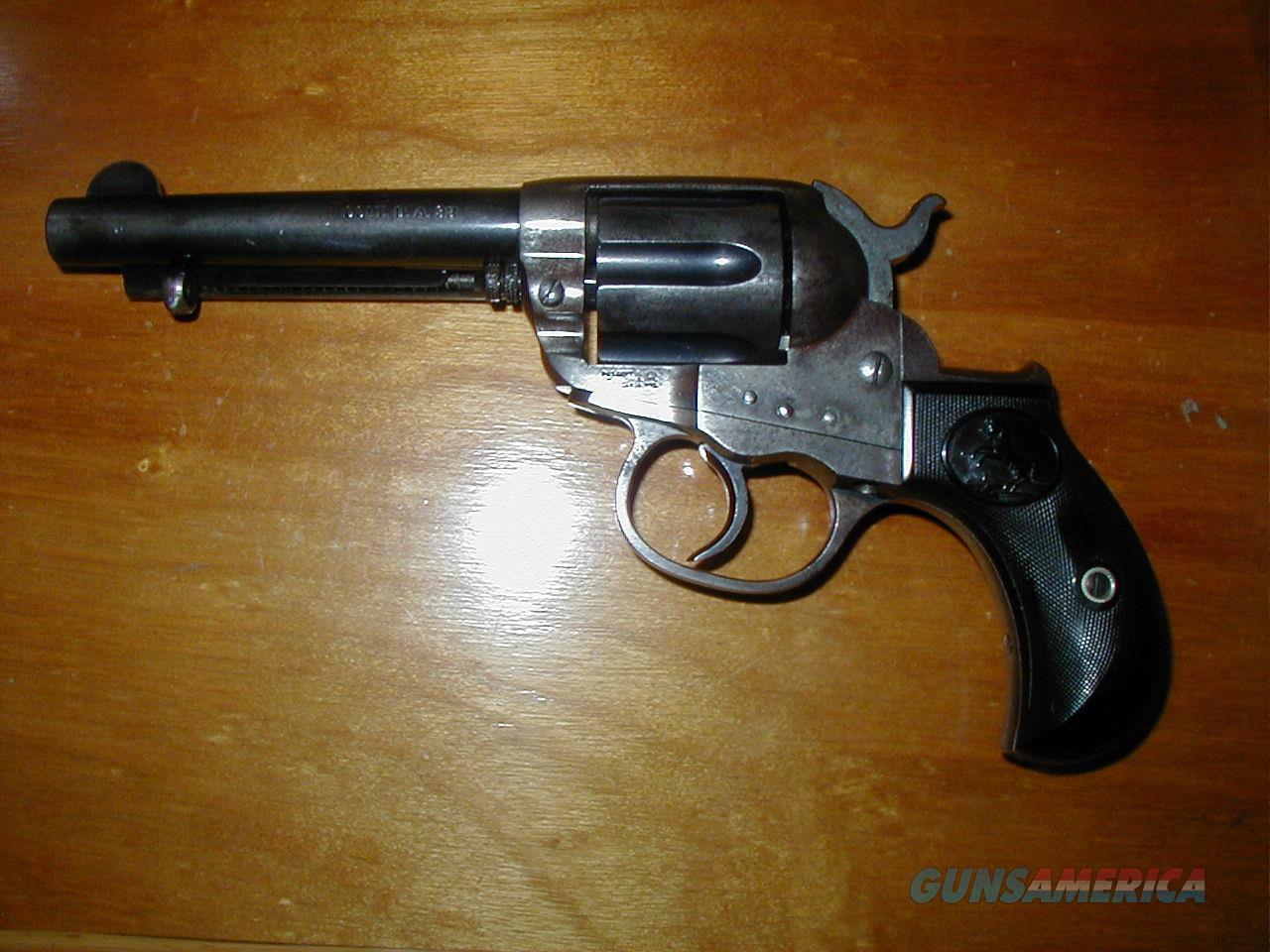 Colt 1877 Lightning  DA Revolver built 1900  Guns > Pistols > Colt Double Action Revolvers- Pre-1945