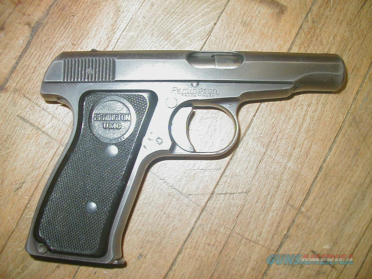 Original Remington Model 51 .380 1920's PA226xx  Guns > Pistols > Remington Pistols - Modern > R51
