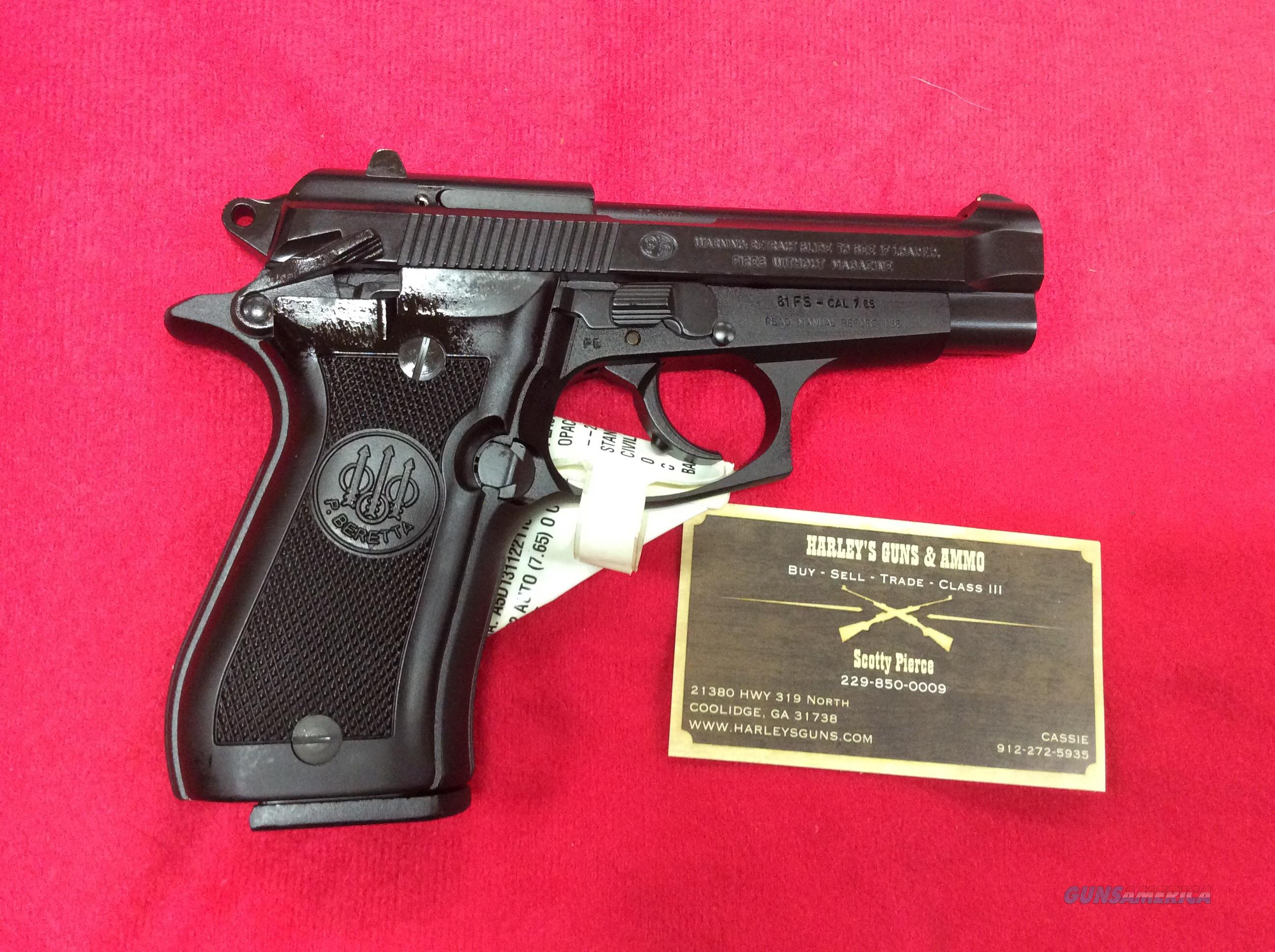 Beretta 81 Cheetah .32auto  Guns > Pistols > Beretta Pistols > Cheetah Series > Model 81