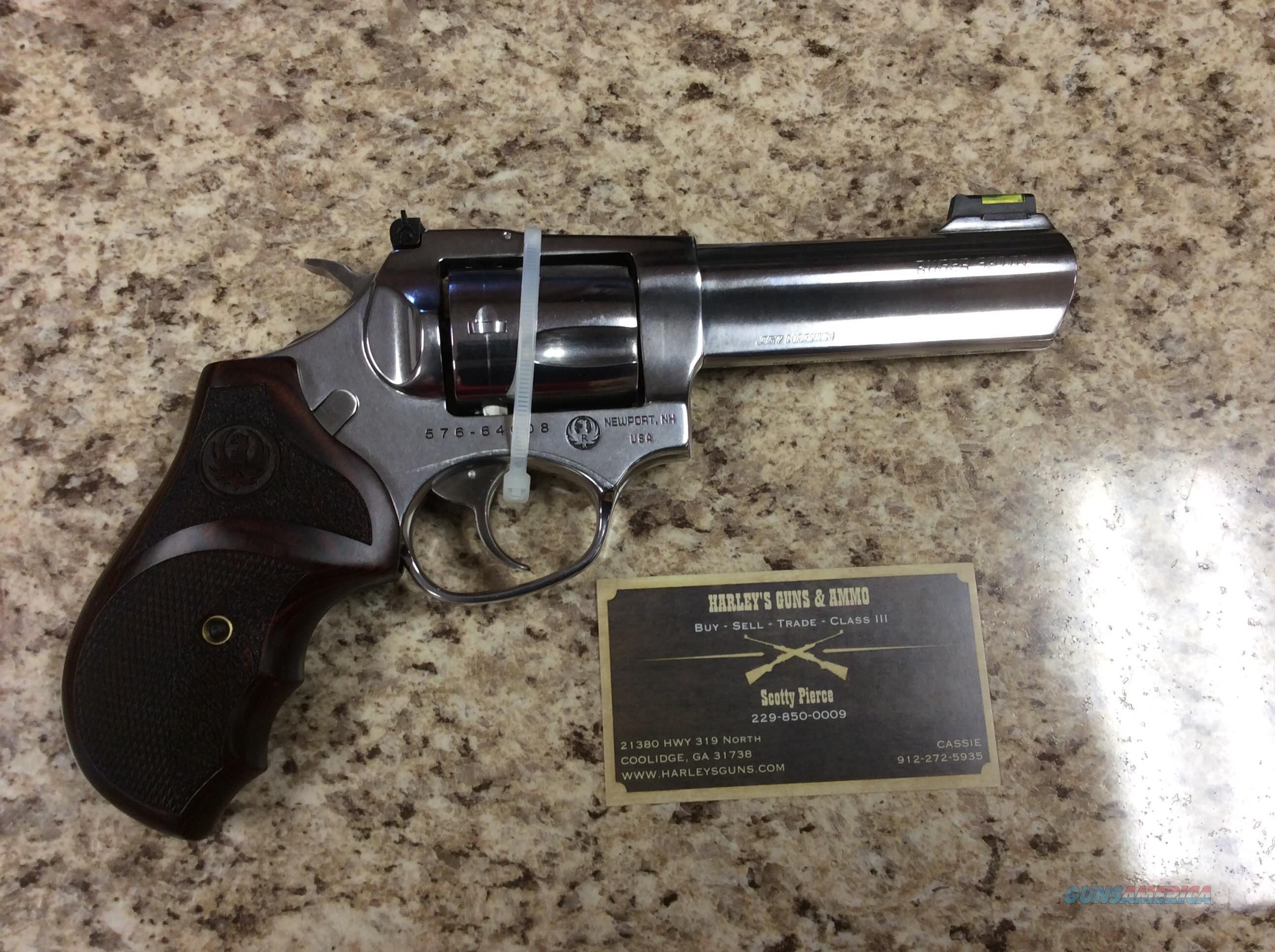 Ruger SP101 .357mag Stainless  Guns > Pistols > Ruger Double Action Revolver > SP101 Type