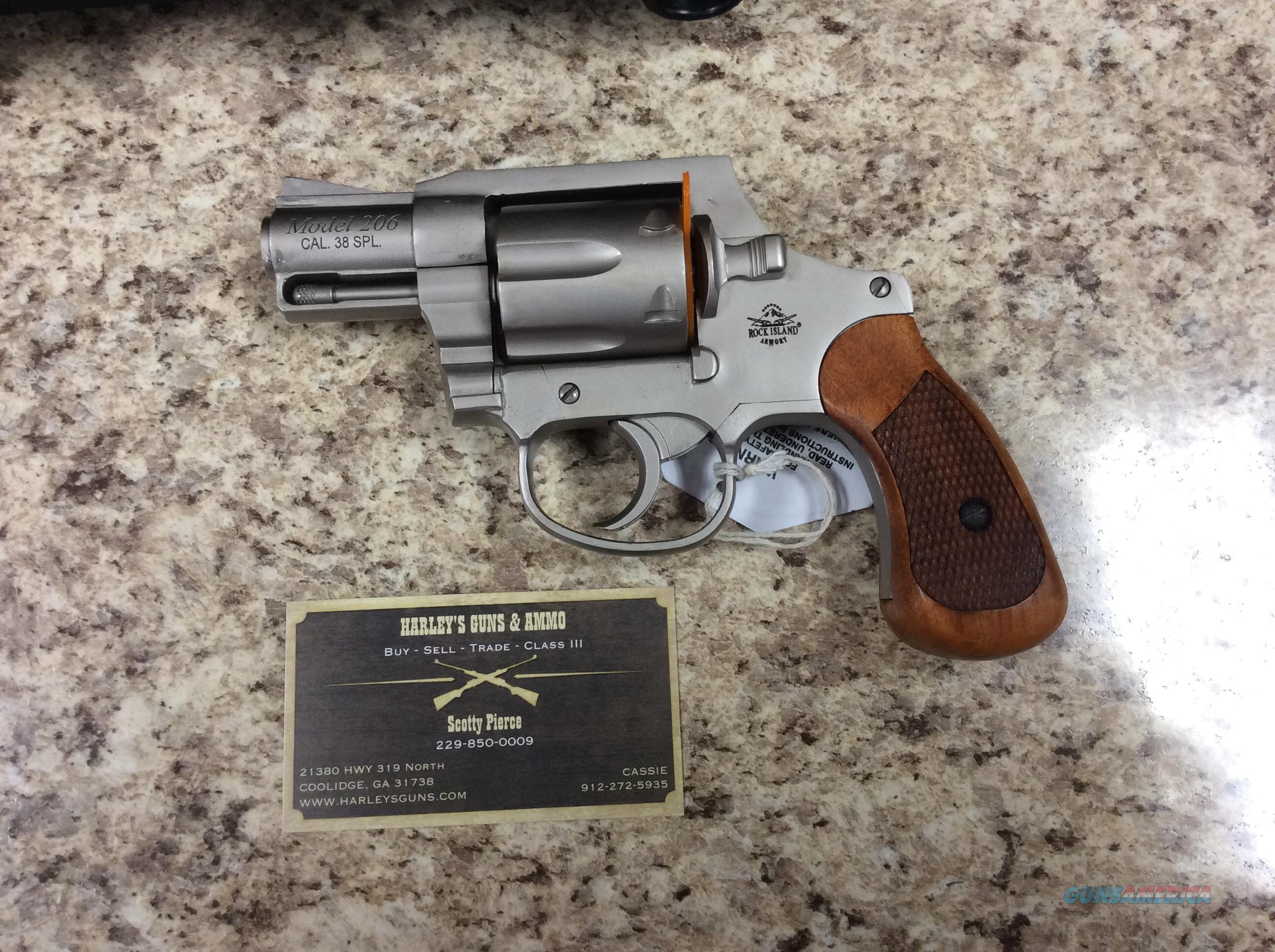Rock Island Model 206 .38sp  Guns > Pistols > Armscor Pistols > Rock Island
