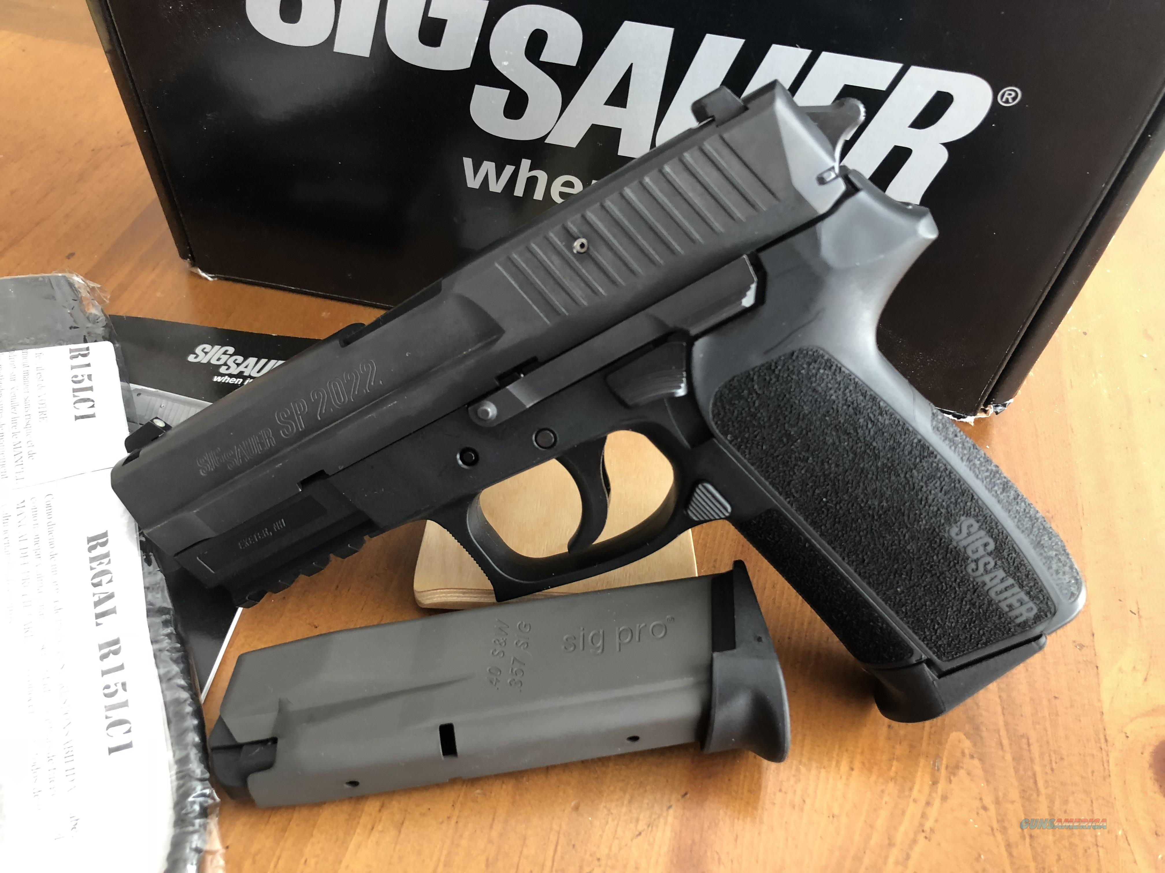 SIG SP2022, 12 rd, 40 S&W  Guns > Pistols > Sig - Sauer/Sigarms Pistols > 2022