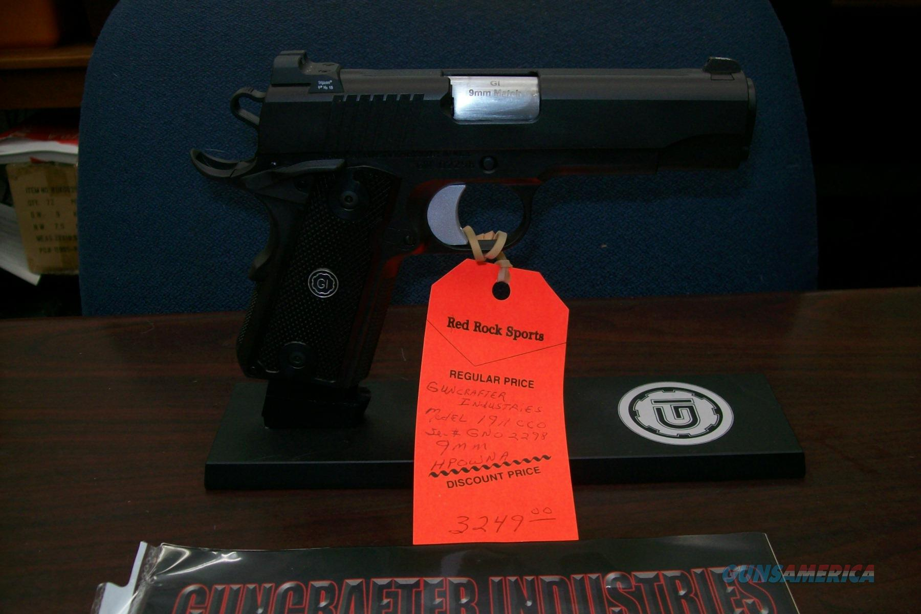 Guncrafter Industries 1911 9mm New IN Box! Free Shipping!  Guns > Pistols > 1911 Pistol Copies (non-Colt)