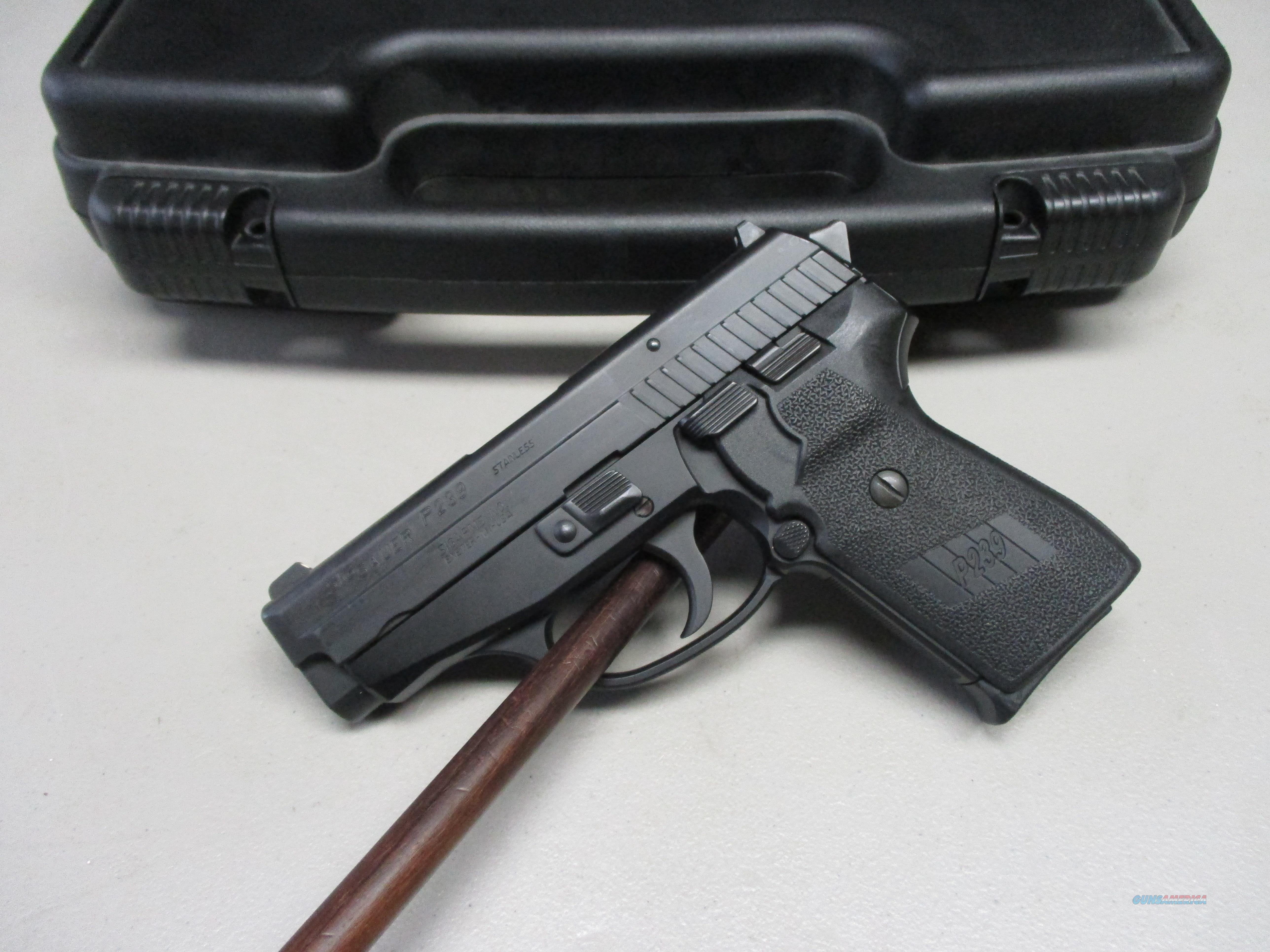Sig Sauer P239 9mm 8+1 w/box, spare mag, manual  Guns > Pistols > Sig - Sauer/Sigarms Pistols > P239