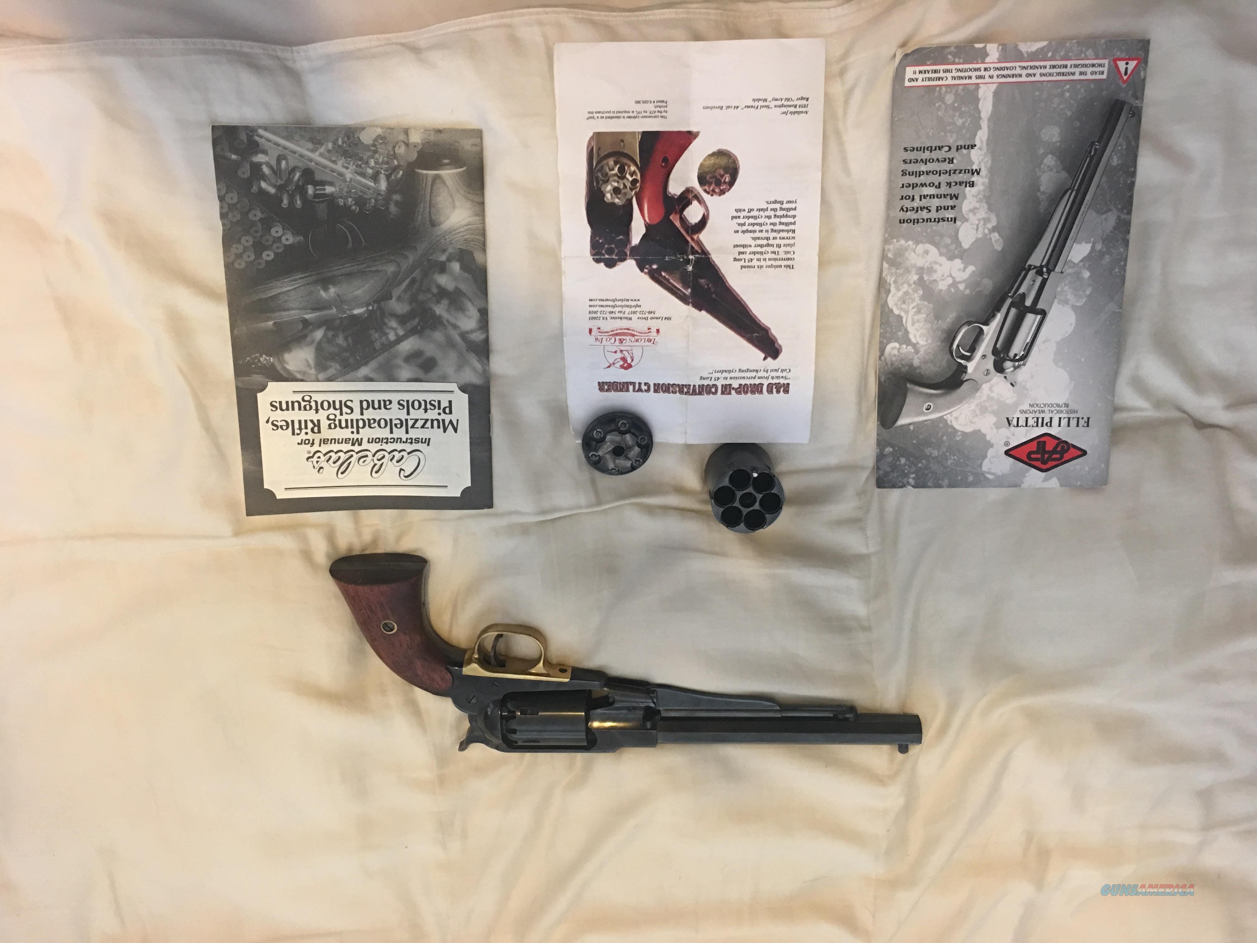 1858 New Army Revolver   Guns > Pistols > Pedersoli Pistols > Percussion