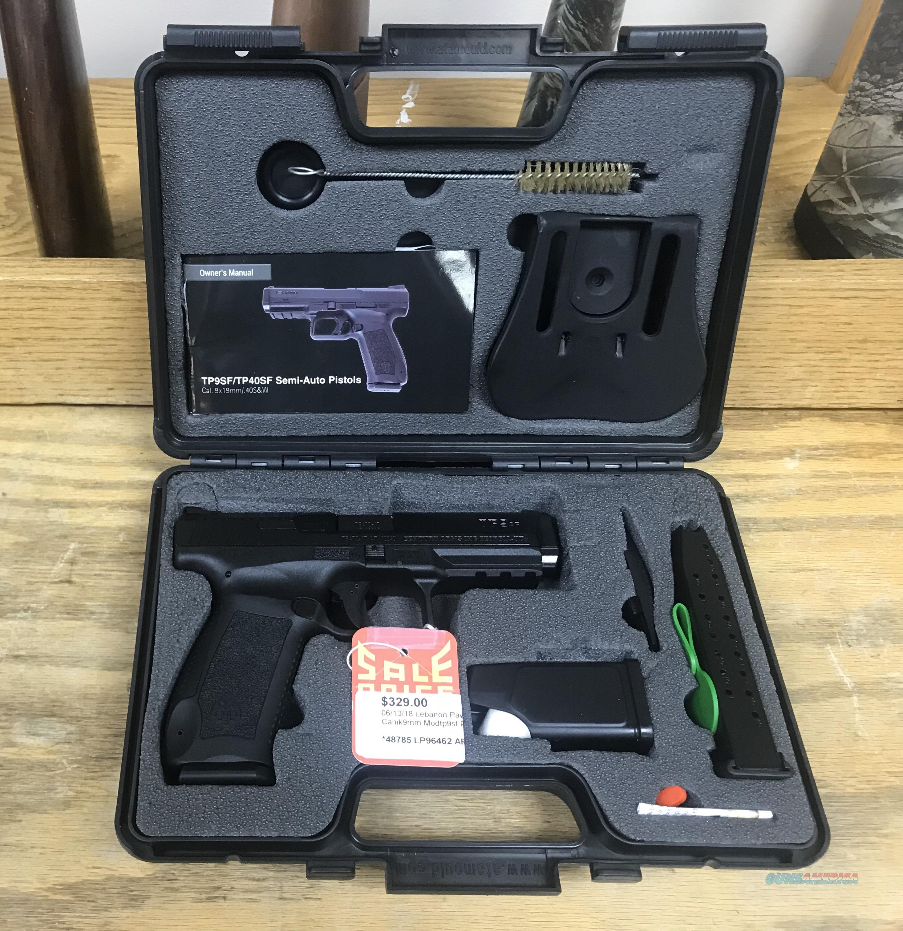 Canik 9mm Pistol   Guns > Pistols > Canik USA Pistols