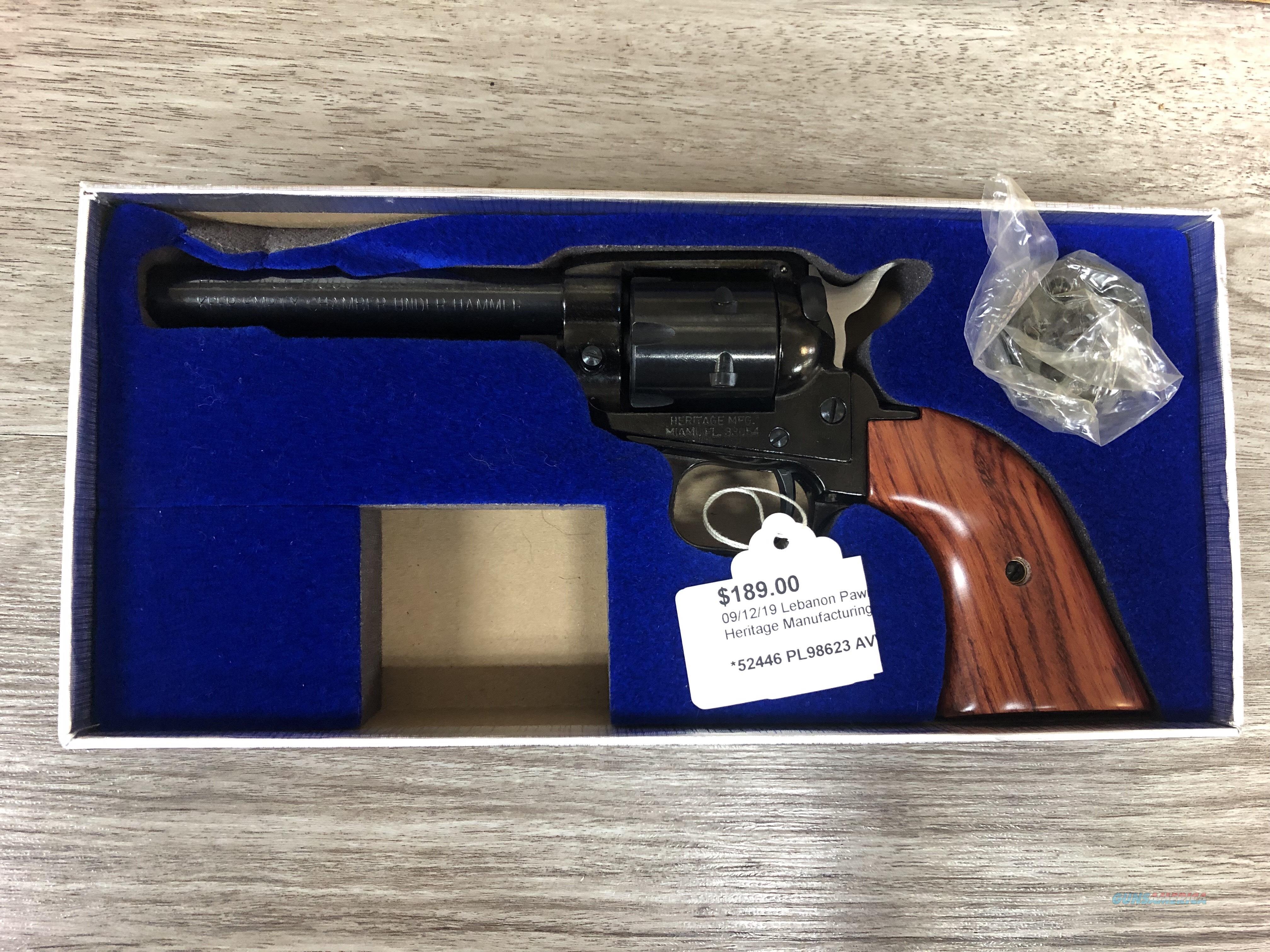 Heritage Manufacturing Inc  Guns > Pistols > Heritage
