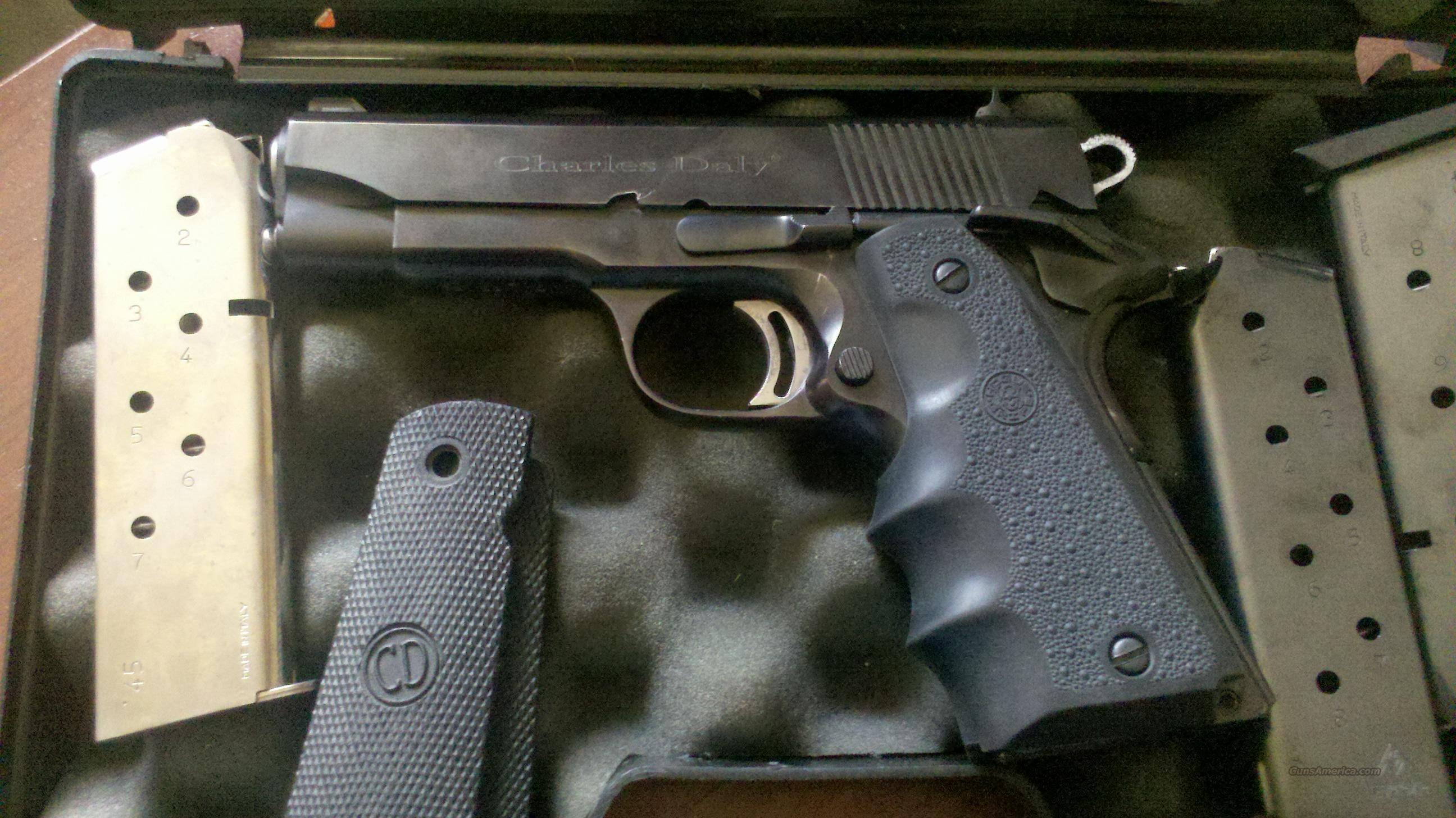 Charles Daly 1911 w/case and 3 clips  Guns > Pistols > Charles Daly Pistols > Auto