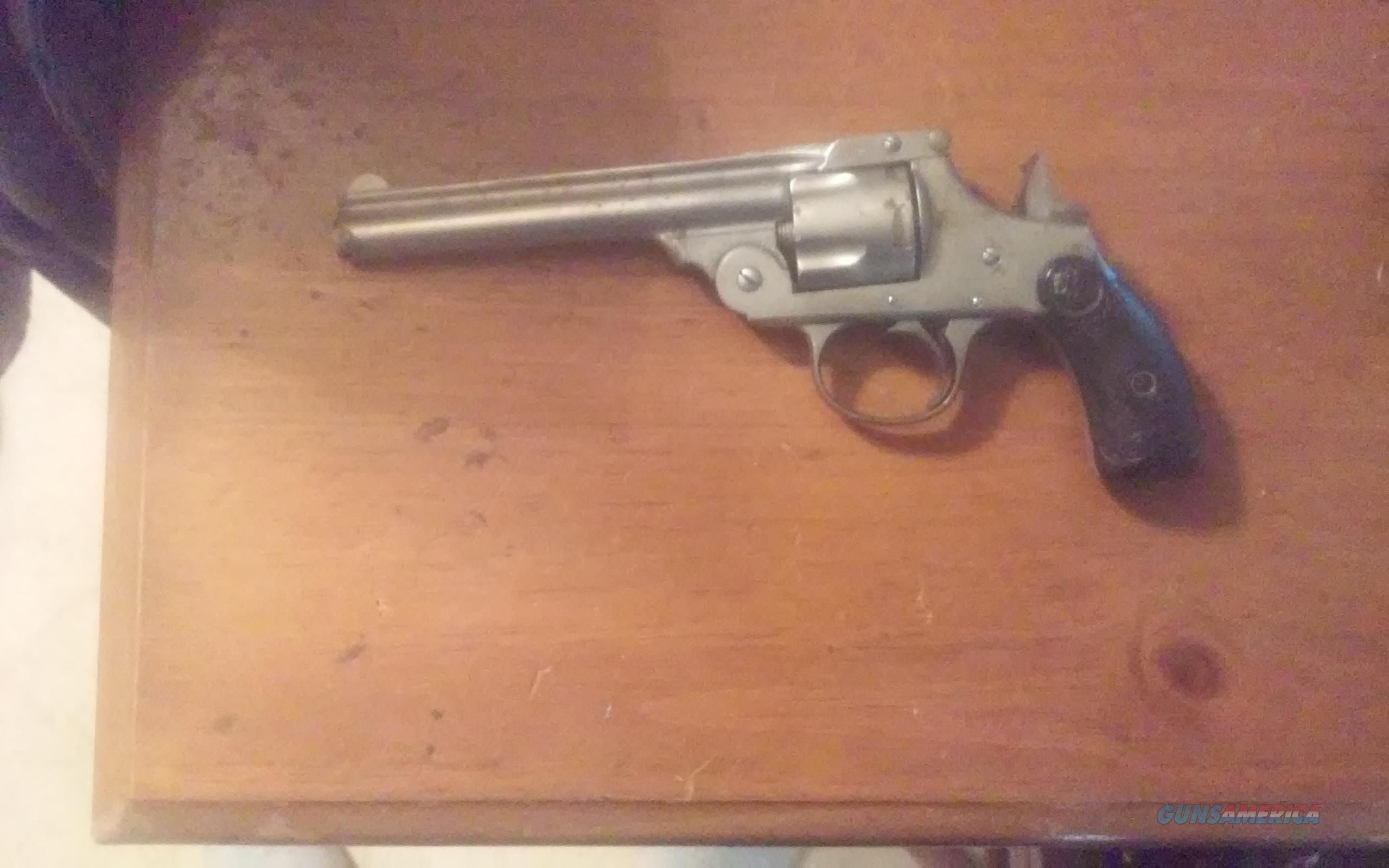 IVER JOHNSON CYCLE WORKS REVOLVER IN 38 S&W CENTER FIRE  Guns > Pistols > Iver Johnson Pistols