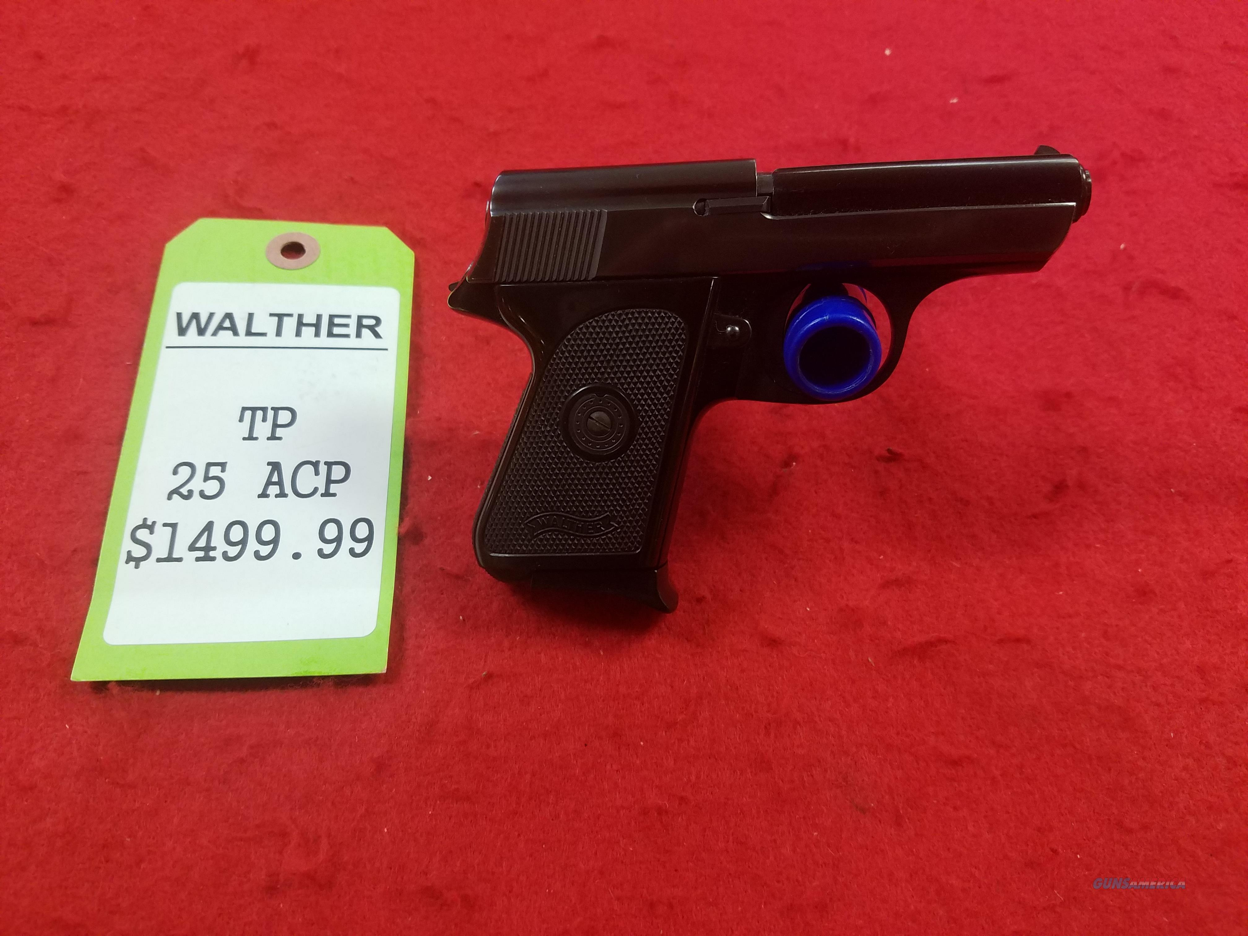 Walther TP  Guns > Pistols > Walther Pistols > Pre-1945 > Other