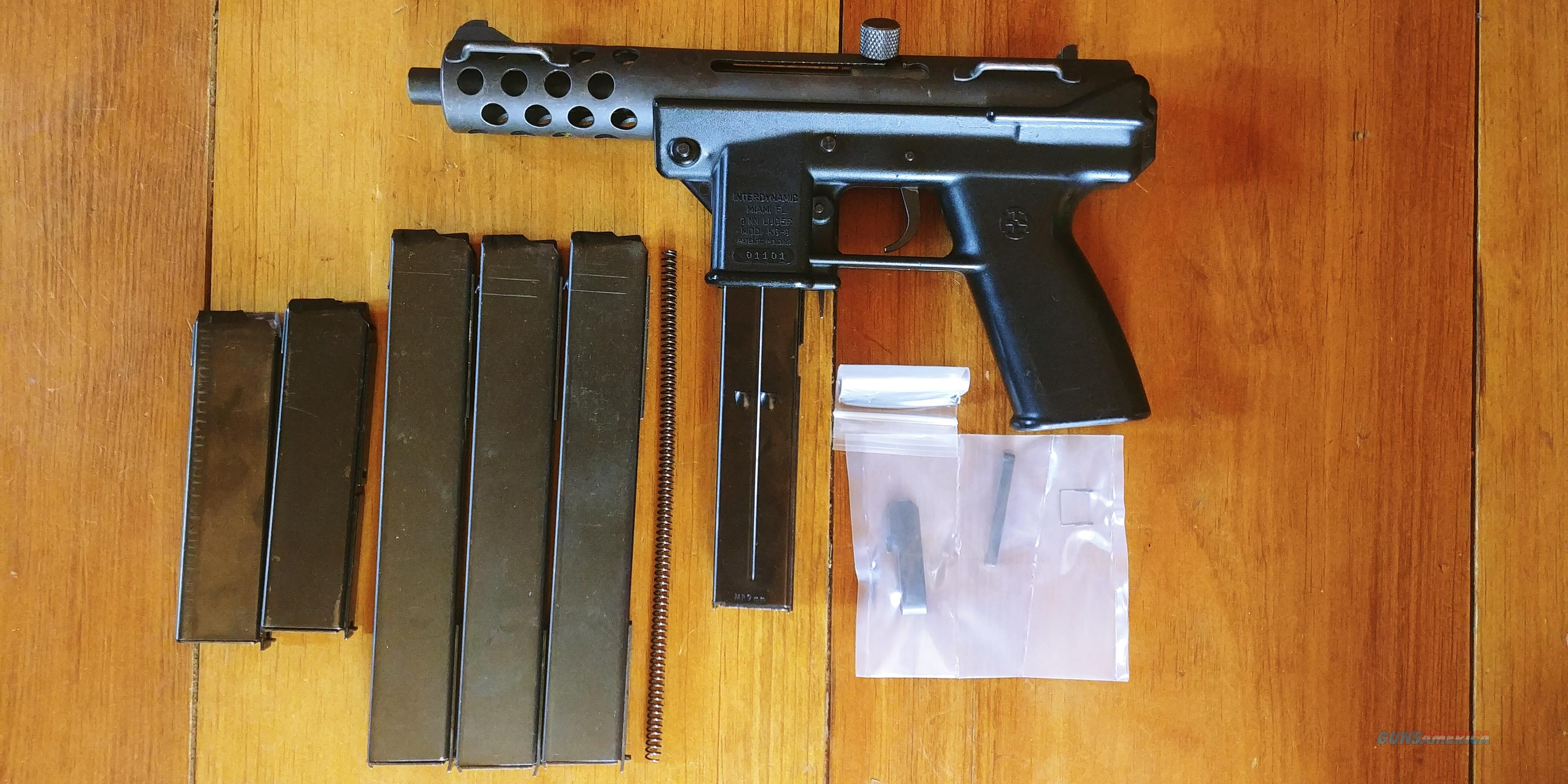 Interdynamic KG-9 in excellent condition for sale!  Guns > Pistols > Intratec Pistols