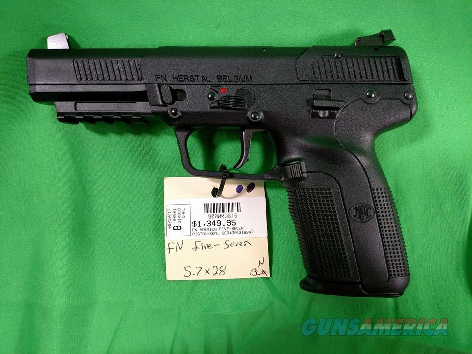 FNH American Five-Seven Pistol  Guns > Pistols > FNH - Fabrique Nationale (FN) Pistols > FiveSeven