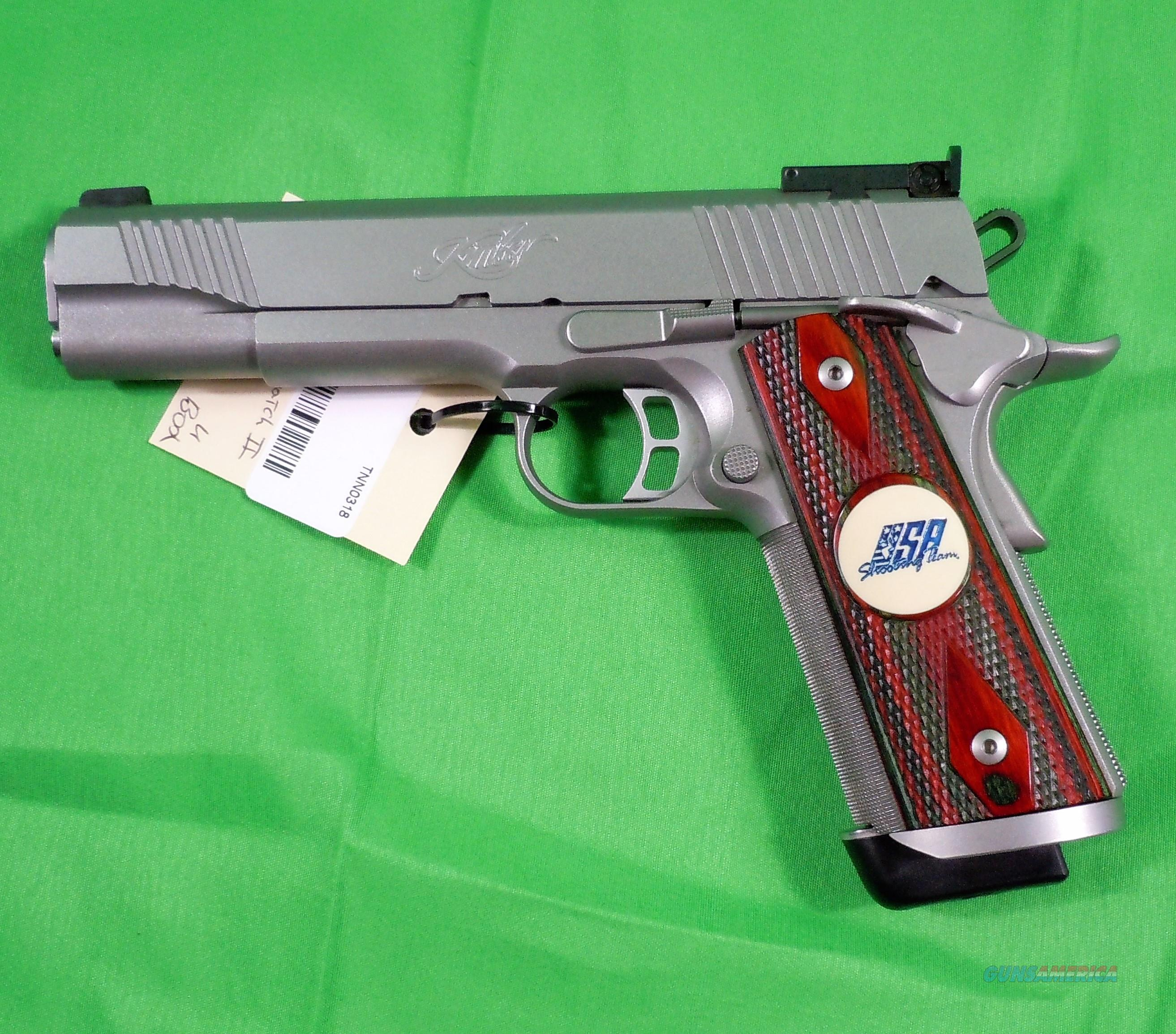 Kimber Team Match II™ .45 caliber Handgun  Guns > Pistols > Kimber of Oregon Pistols