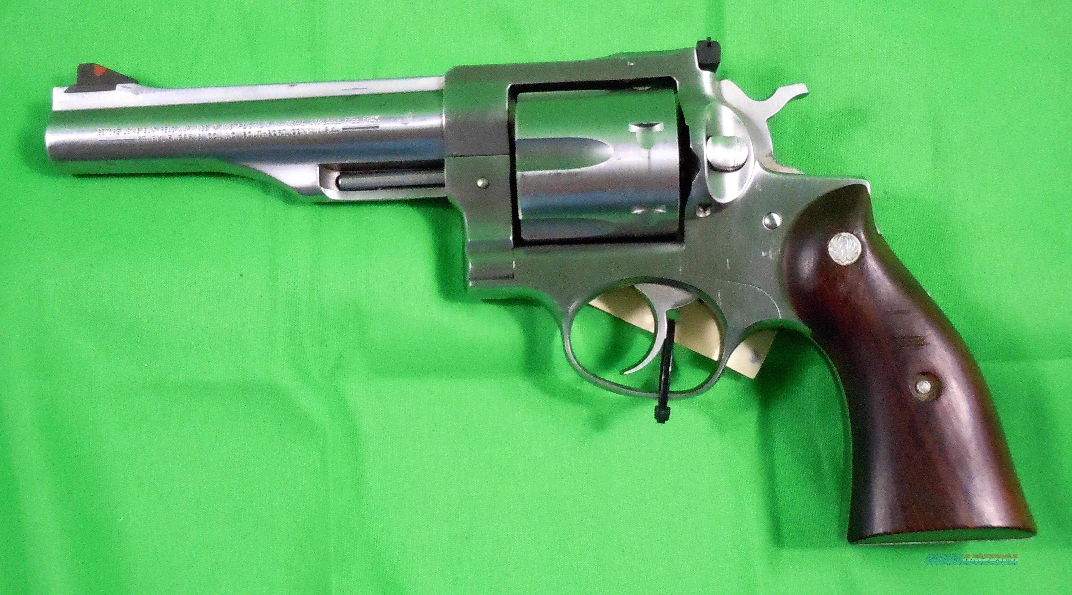 Ruger Redhawk 44 Magnum Revolver  Guns > Pistols > Ruger Double Action Revolver > Redhawk Type