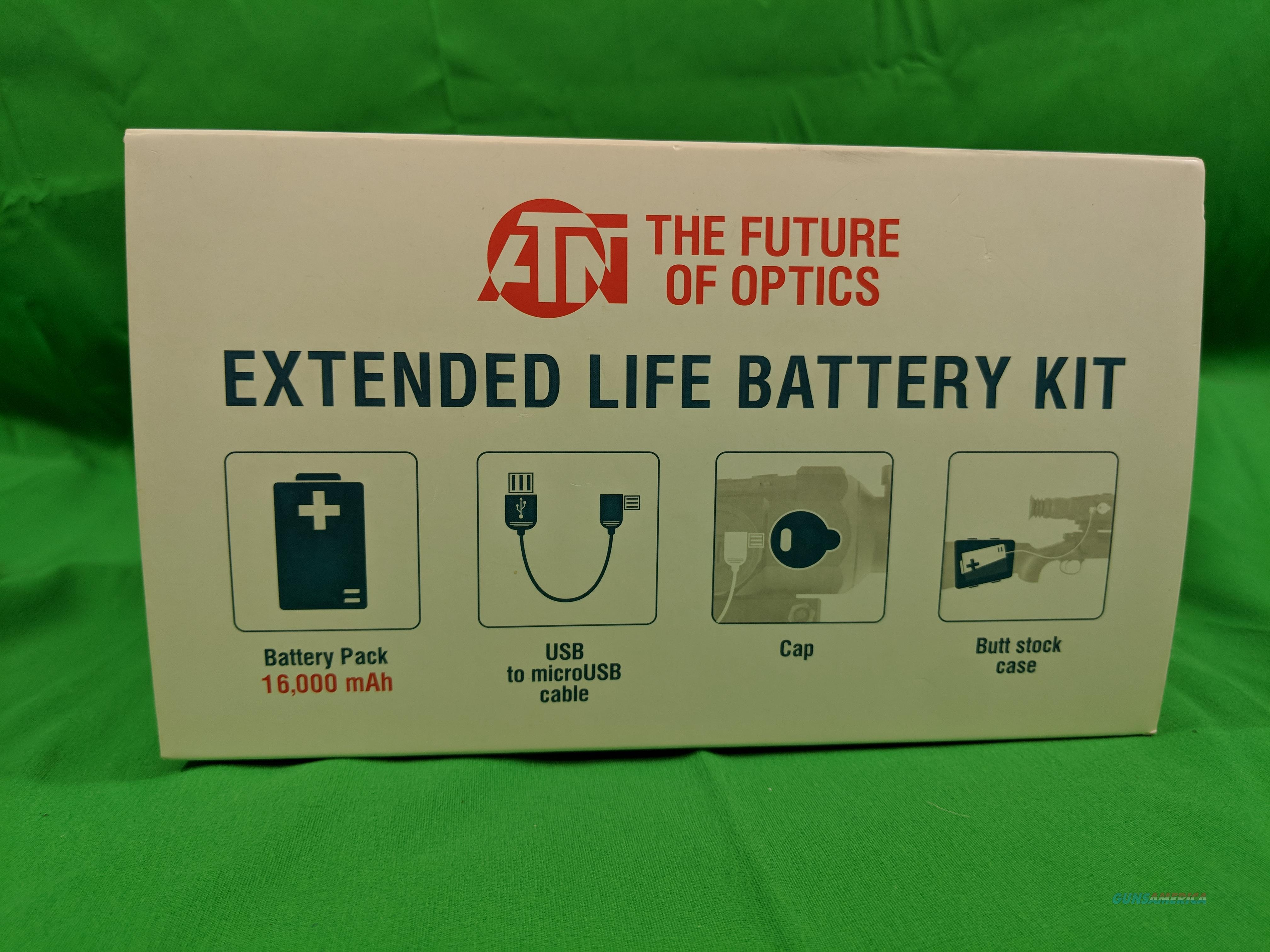 ATN Power Weapon Kit 16,000mAh Battery Pack w/USB Connector  Non-Guns > Night Vision