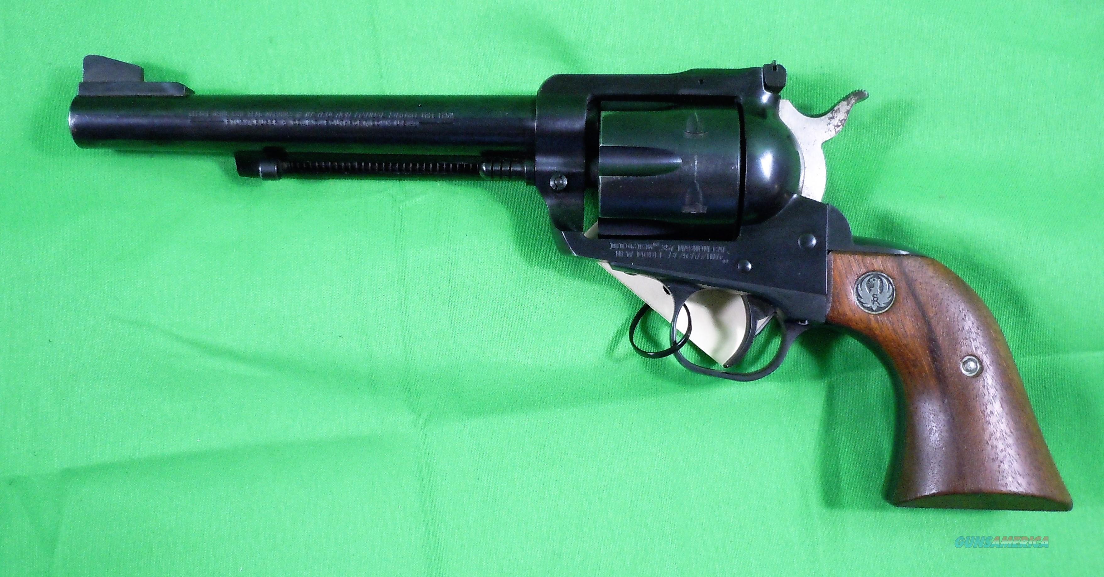 Ruger Blackhawk Single Action .357 Magnum Revolver  Guns > Pistols > Ruger Single Action Revolvers > Blackhawk Type