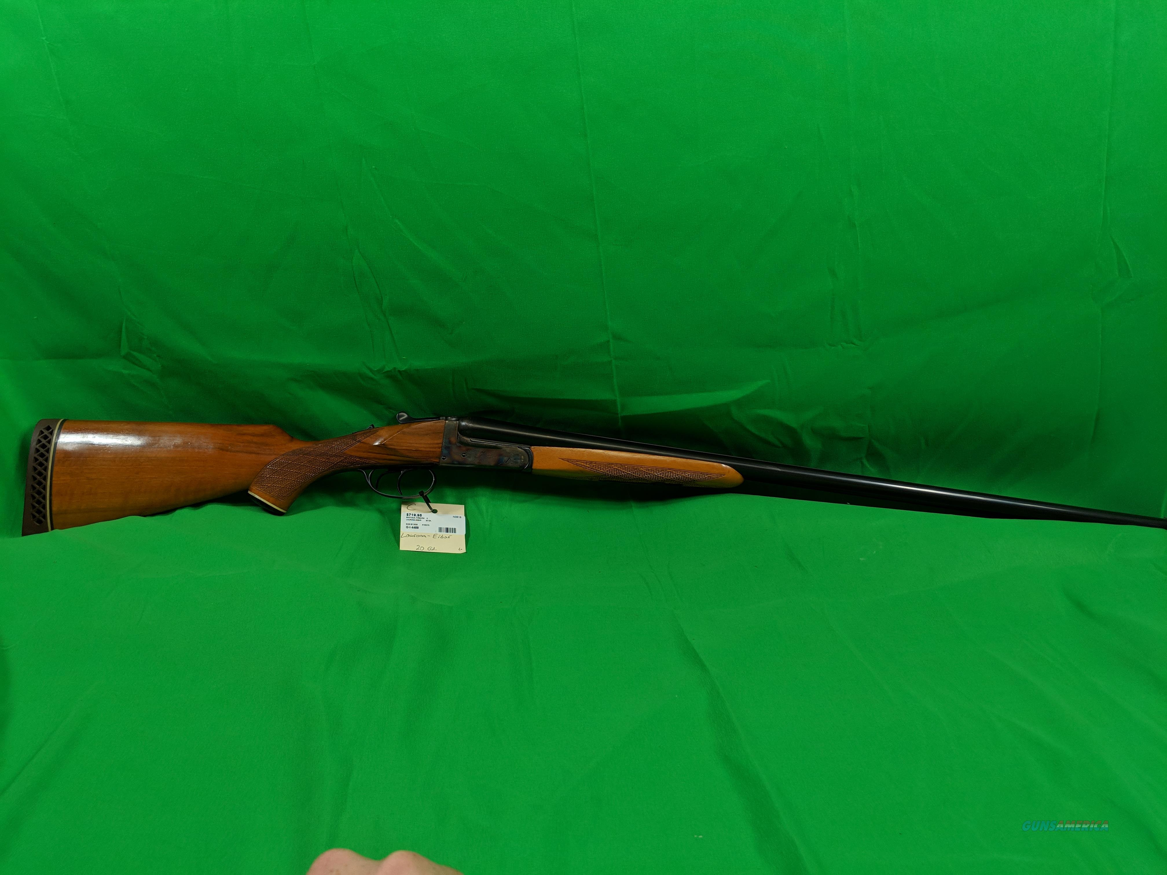 Laurona Eibar 12 Gauge Spanish Shotgun  Guns > Shotguns > L Misc Shotguns