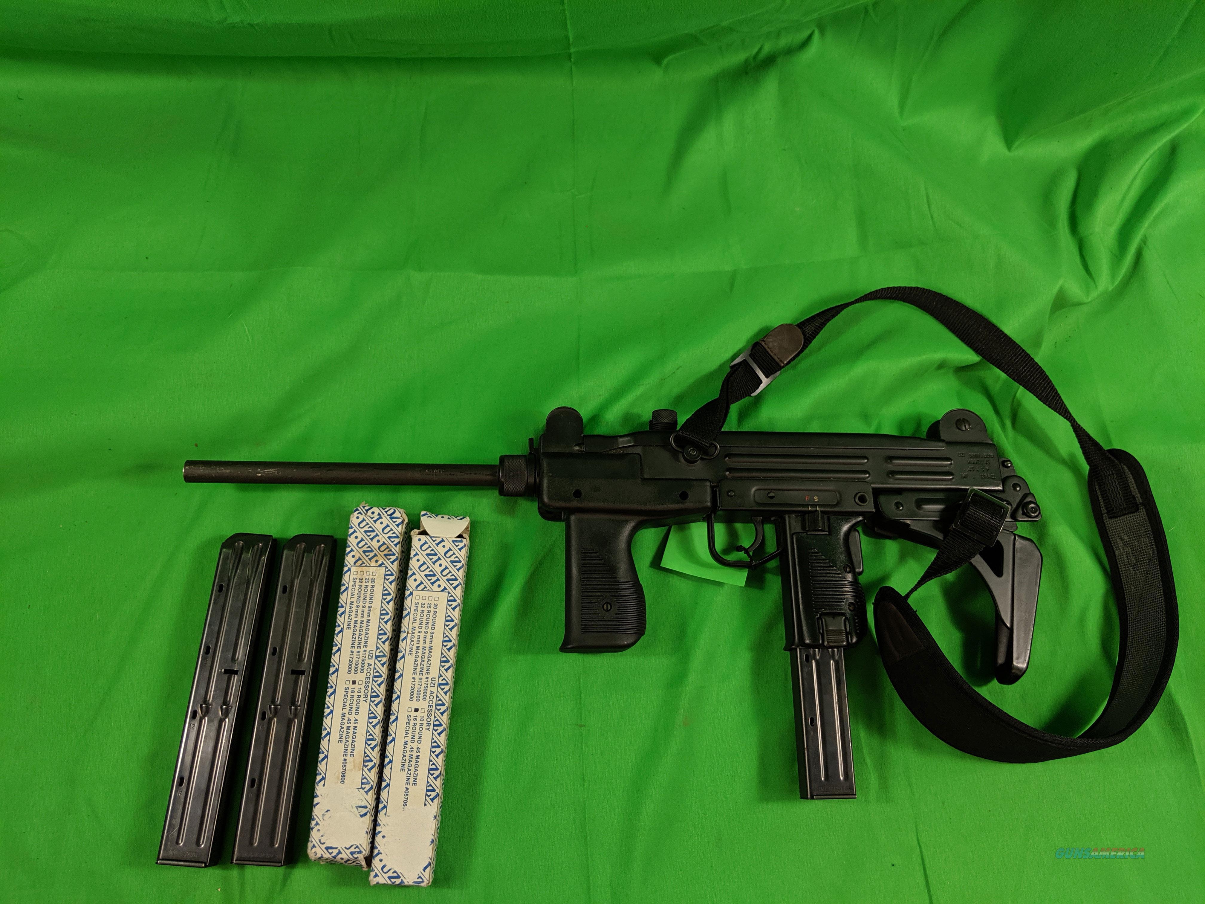 IMI Uzi in .45 ACP  Guns > Rifles > IMI Rifles