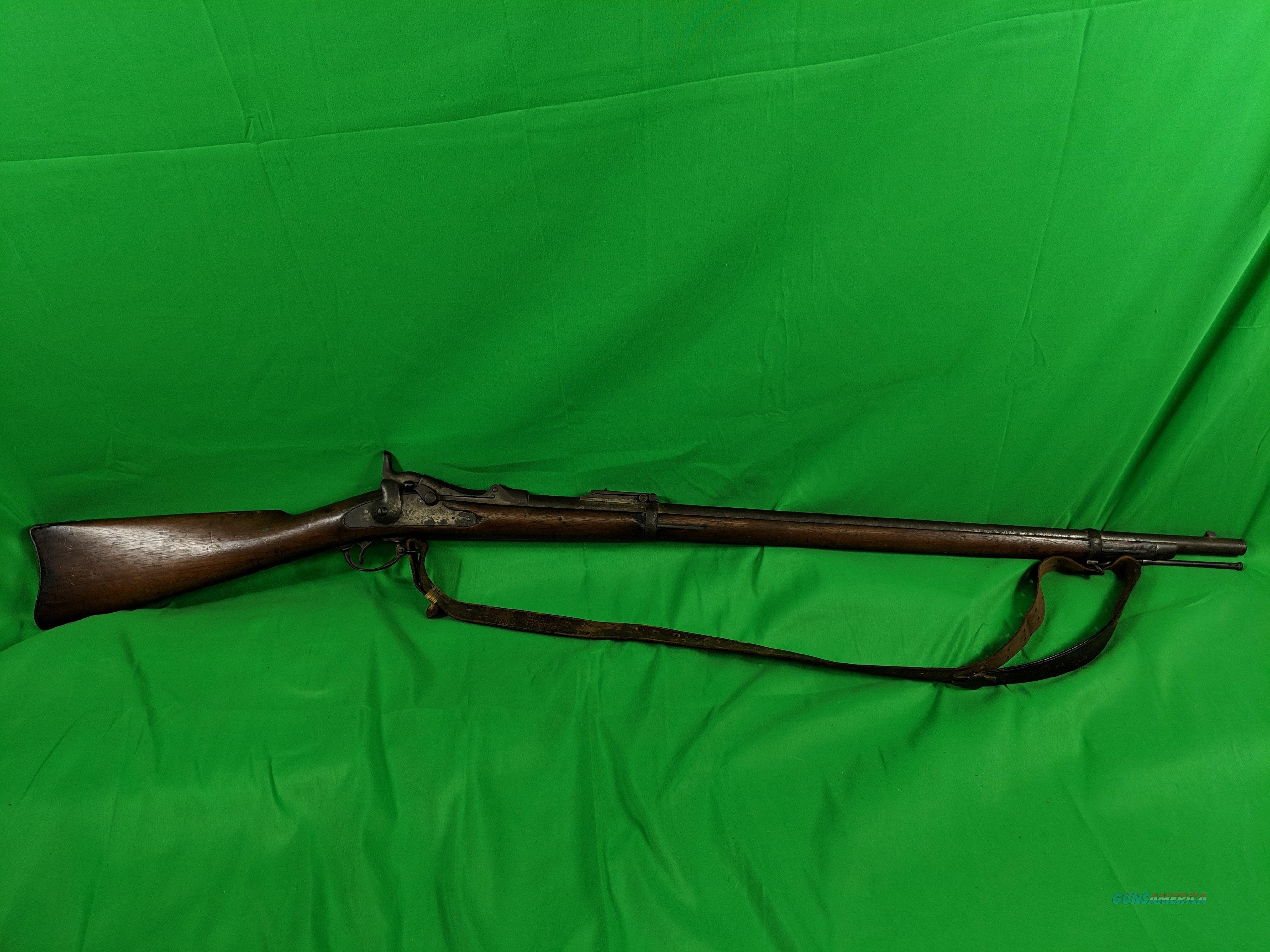 Model 1884 Springfield trapdoor .45-70 GOVT  Guns > Rifles > Antique (Pre-1899) Rifles - Ctg. Misc.