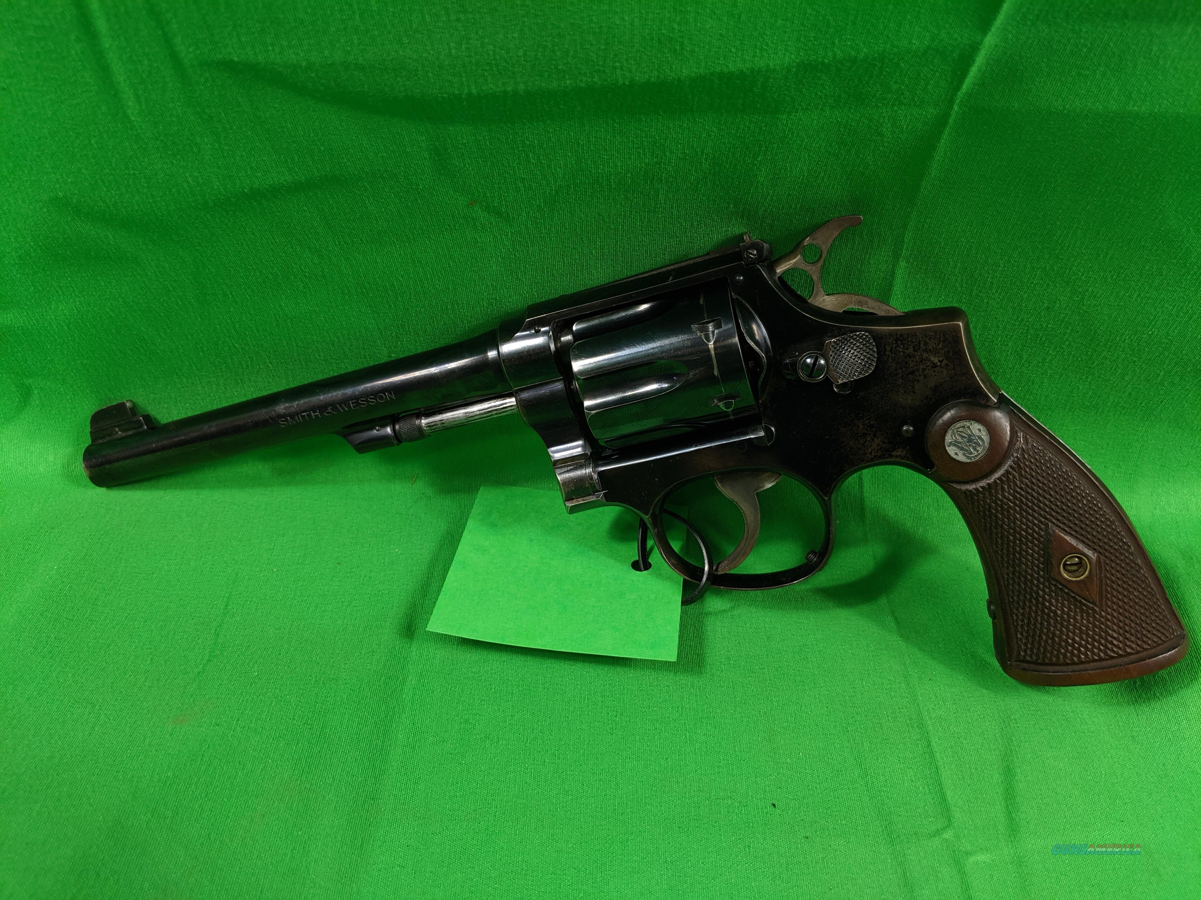 Smith and Wesson K-22 Outdoorsman  Guns > Pistols > Smith & Wesson Revolvers > Med. Frame ( K/L )
