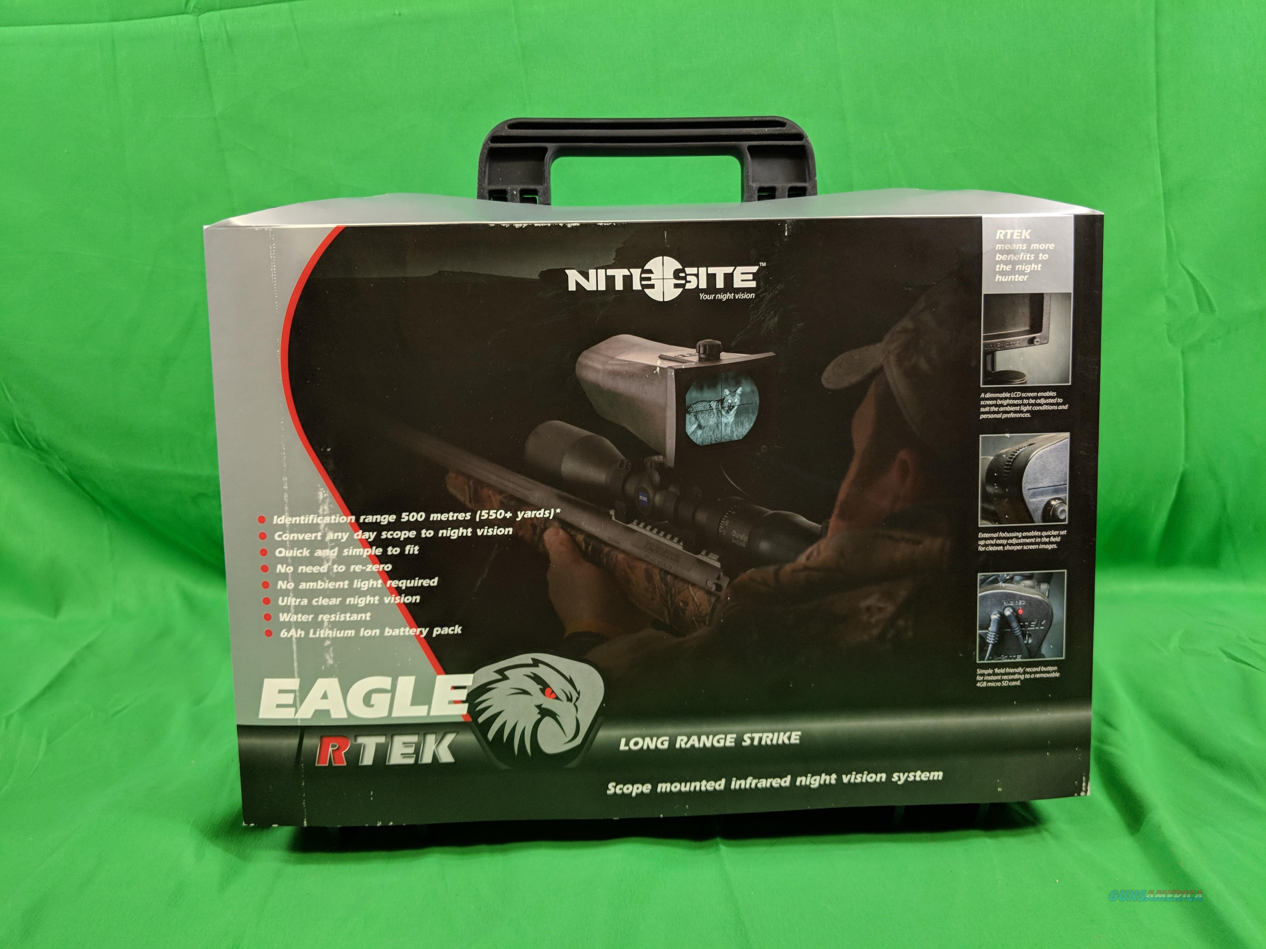 NiteSite Eagle Scope Mounted Night Vision System for Zero Light Hunting  Non-Guns > Night Vision