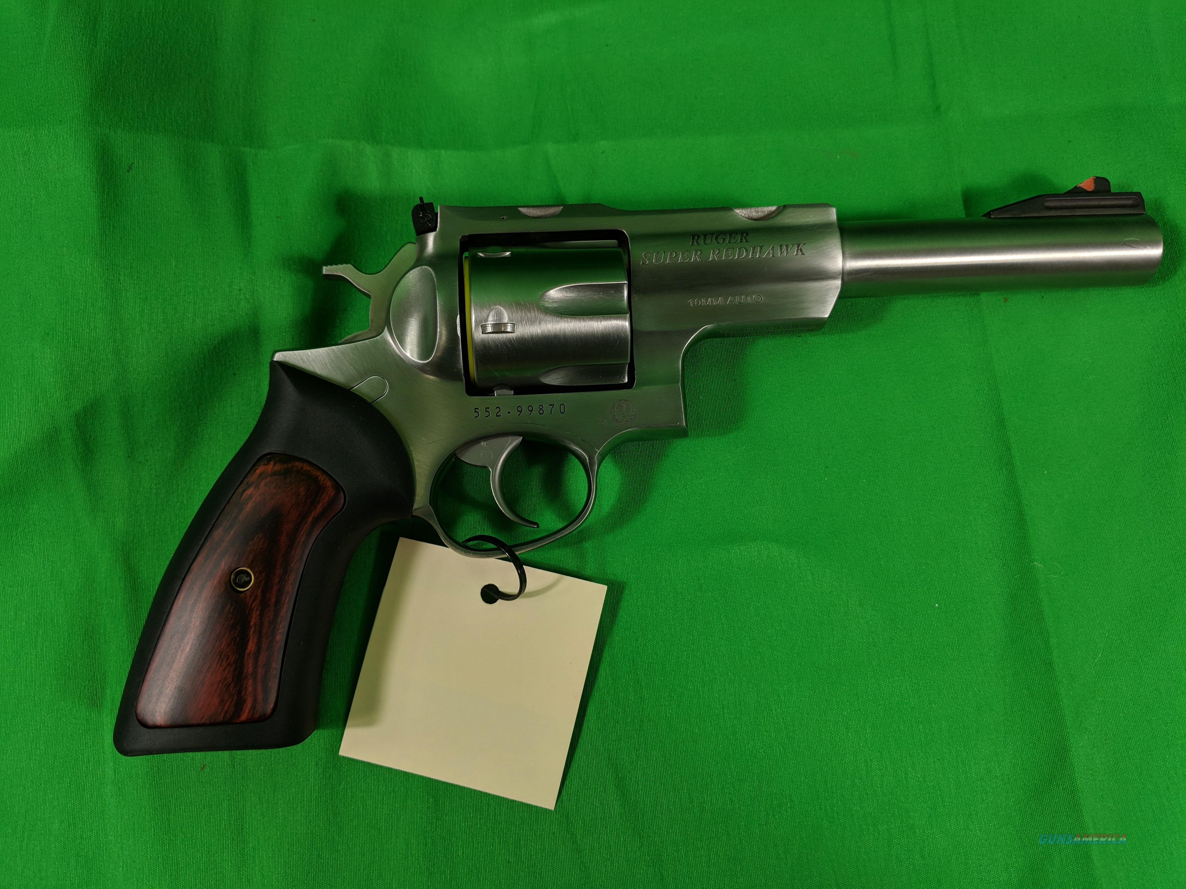Ruger Super Redhawk double action revolver in 10mm  Guns > Pistols > Ruger Double Action Revolver > Redhawk Type