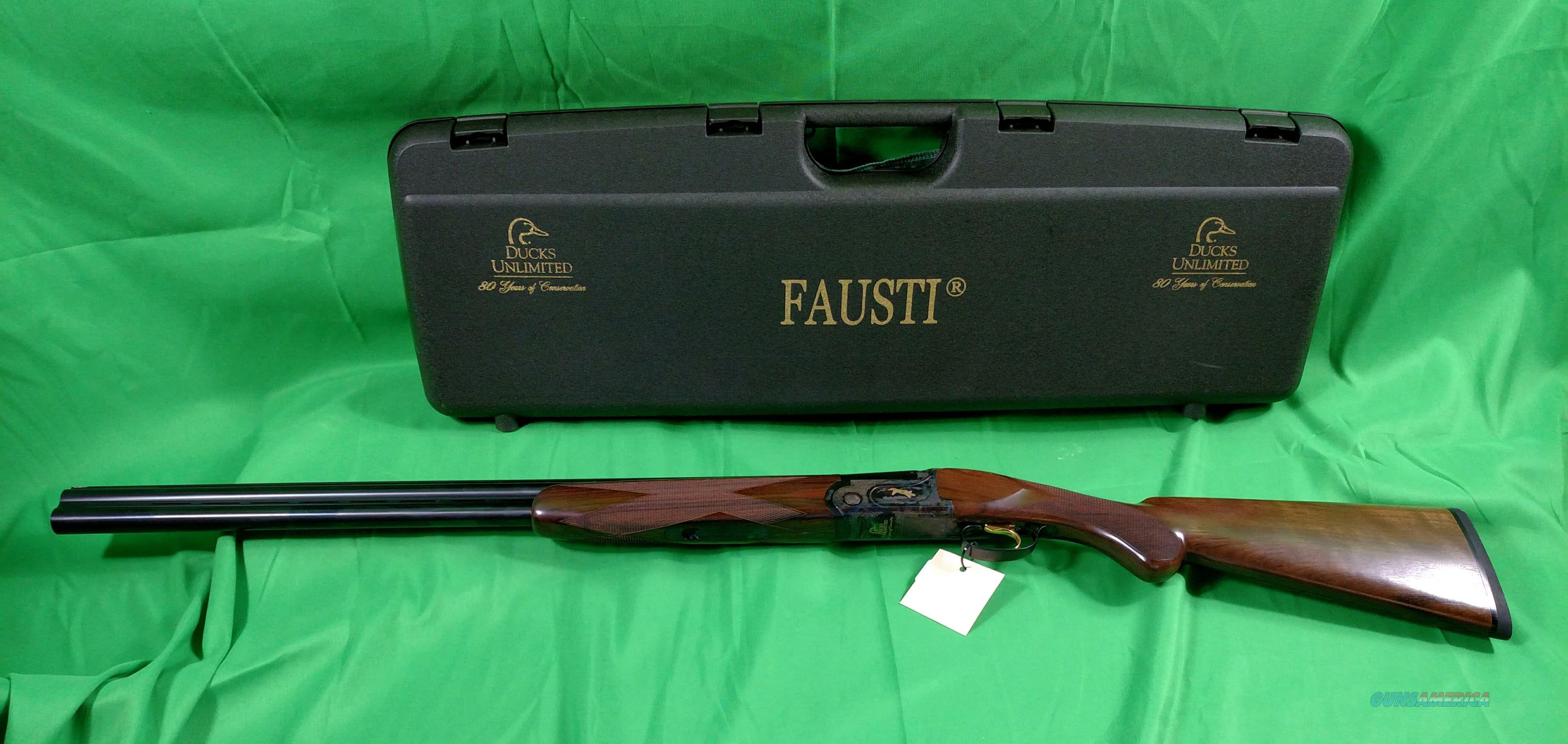 Fausti Ducks Unlimited 12 GA.   Guns > Shotguns > Fausti Shotguns