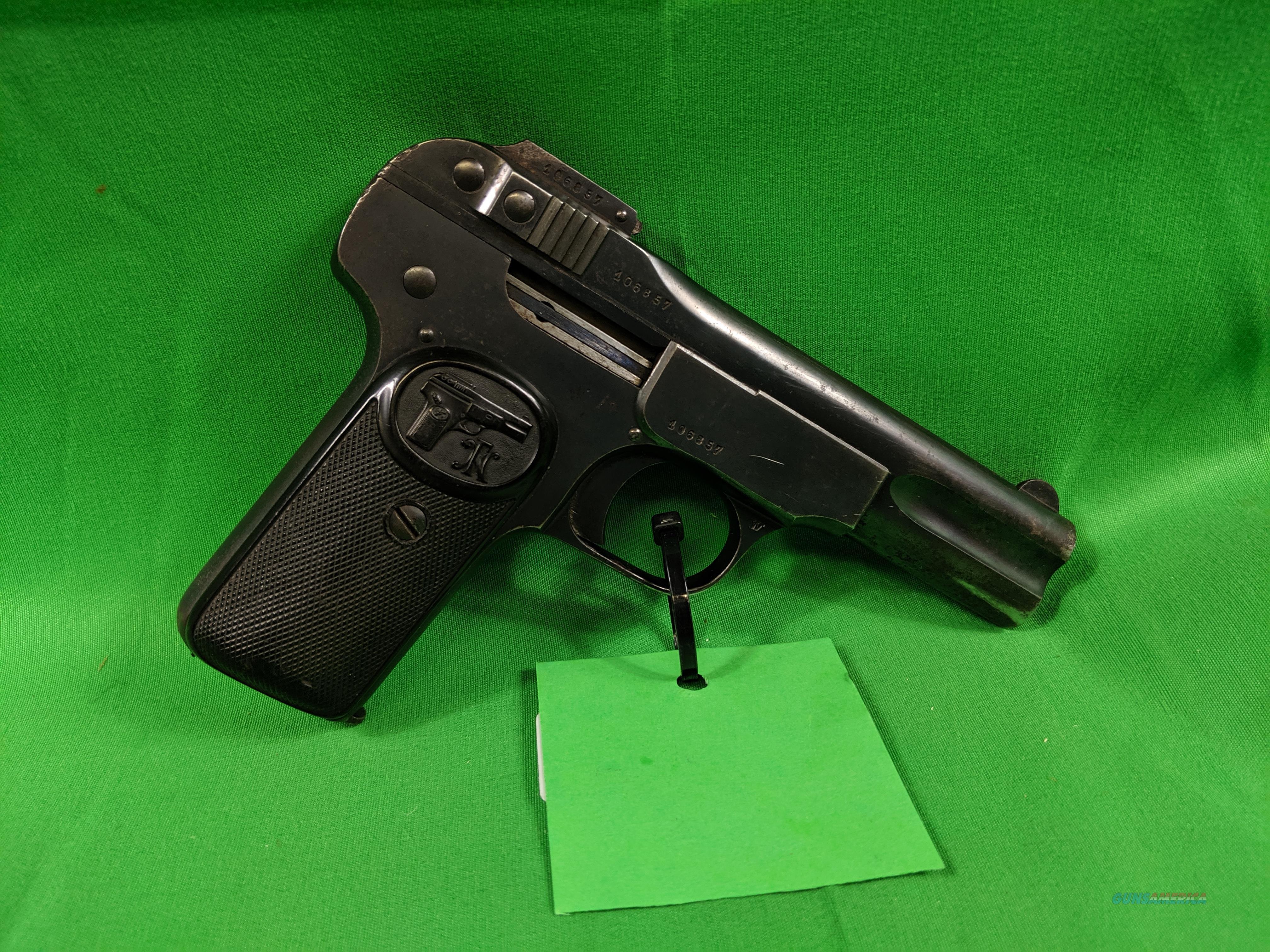 FN 1900 .32 ACP  Guns > Pistols > FNH - Fabrique Nationale (FN) Pistols > Pre-War