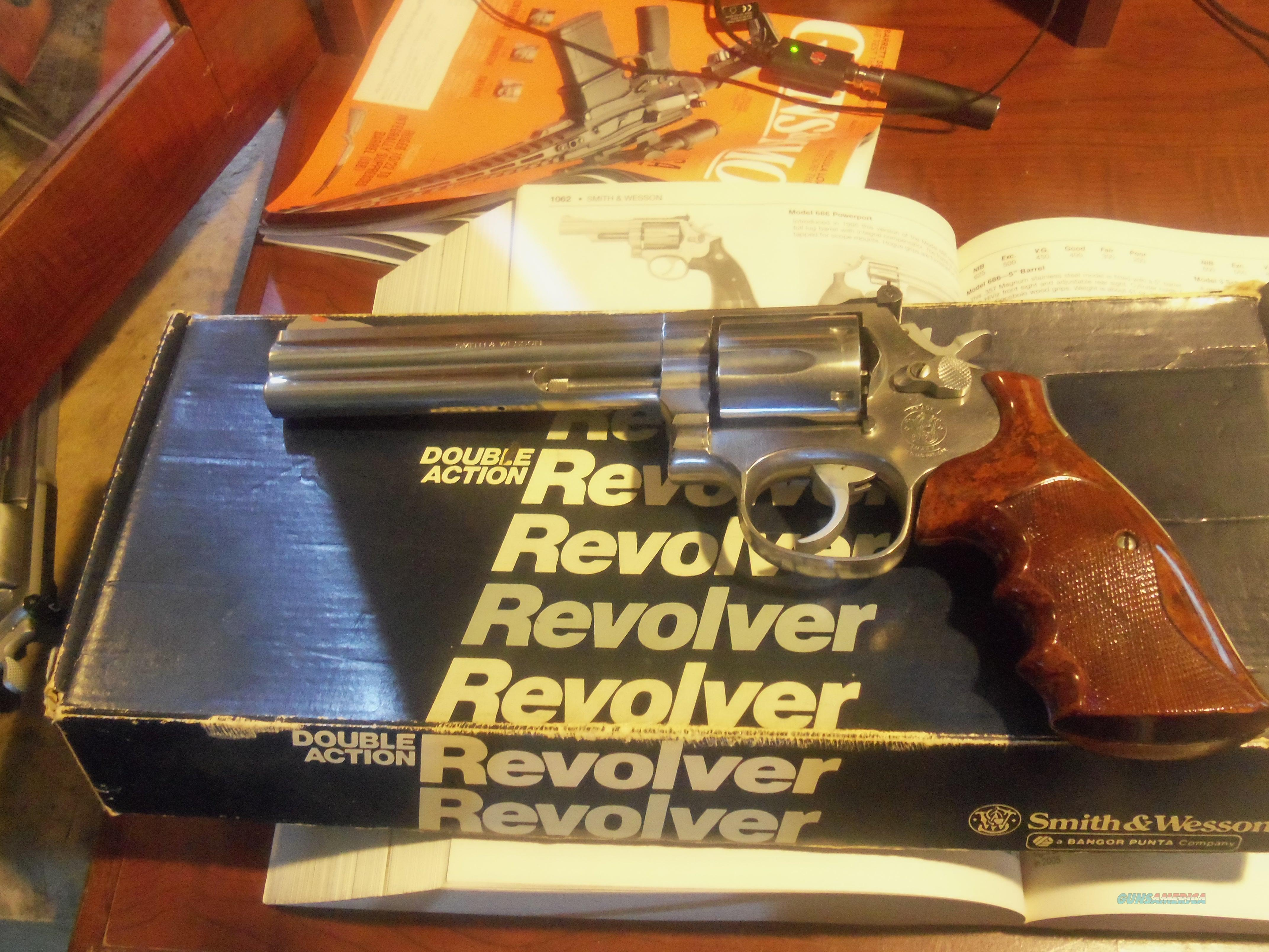 "Smith& Wesson 686 Stainless 6"" 357 Magnum  Guns > Pistols > Smith & Wesson Revolvers > Full Frame Revolver"