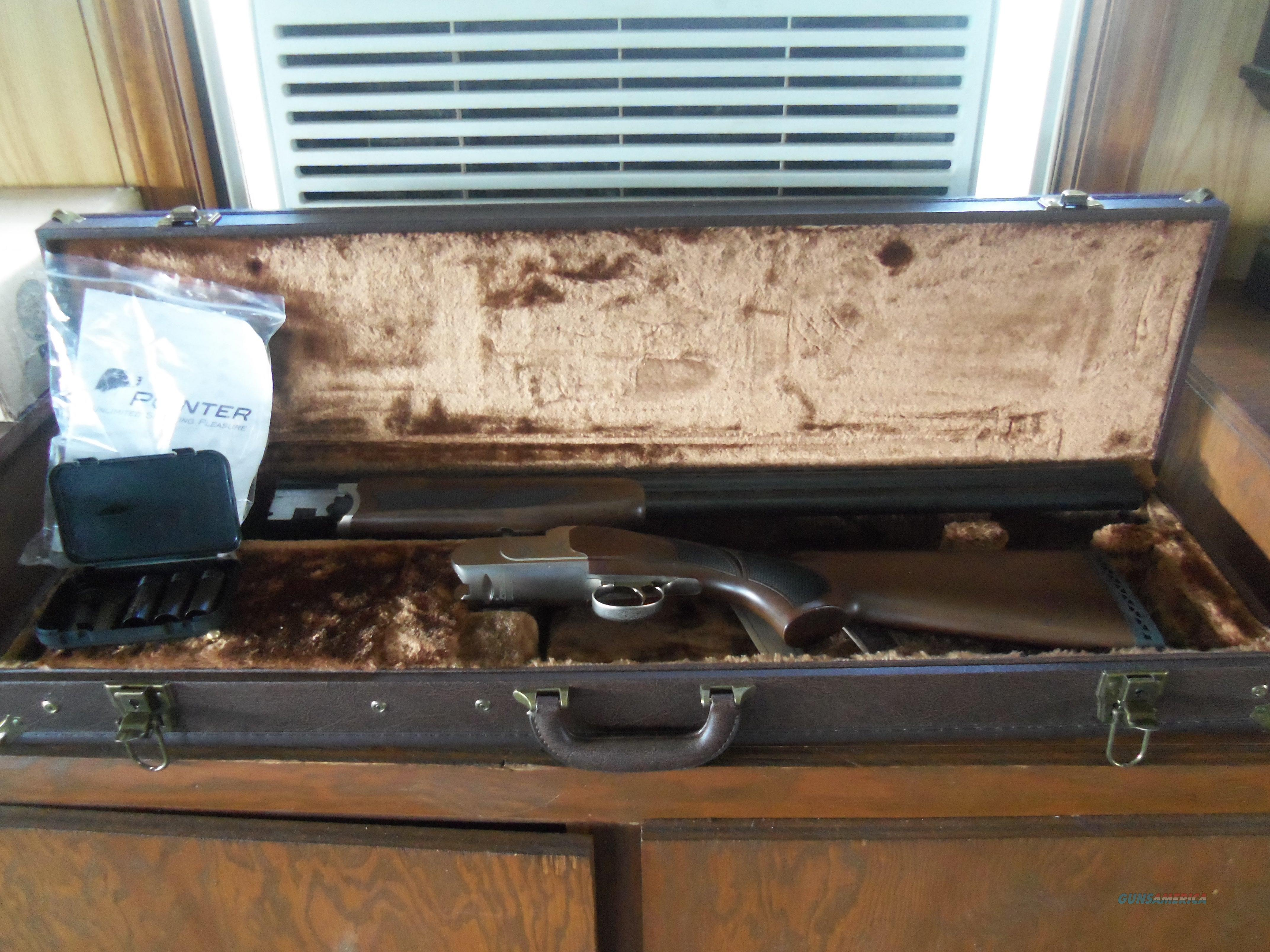 Legacy Pointer 12 Ga Over Under With Case NIB   Guns > Shotguns > L Misc Shotguns