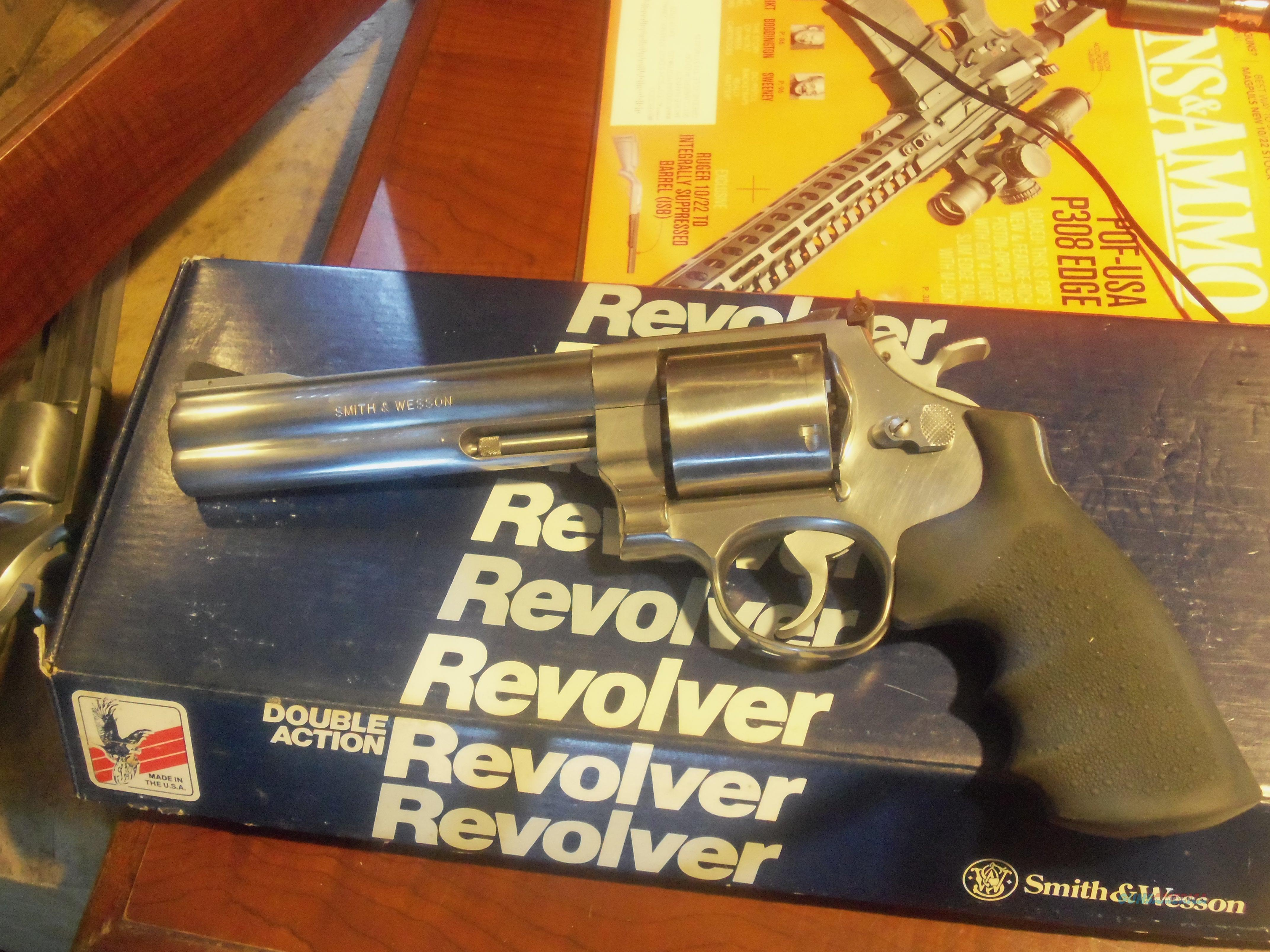 "Smith &Wesson 629 6"" Stainless 44 Magnum  Guns > Pistols > Smith & Wesson Revolvers > Full Frame Revolver"