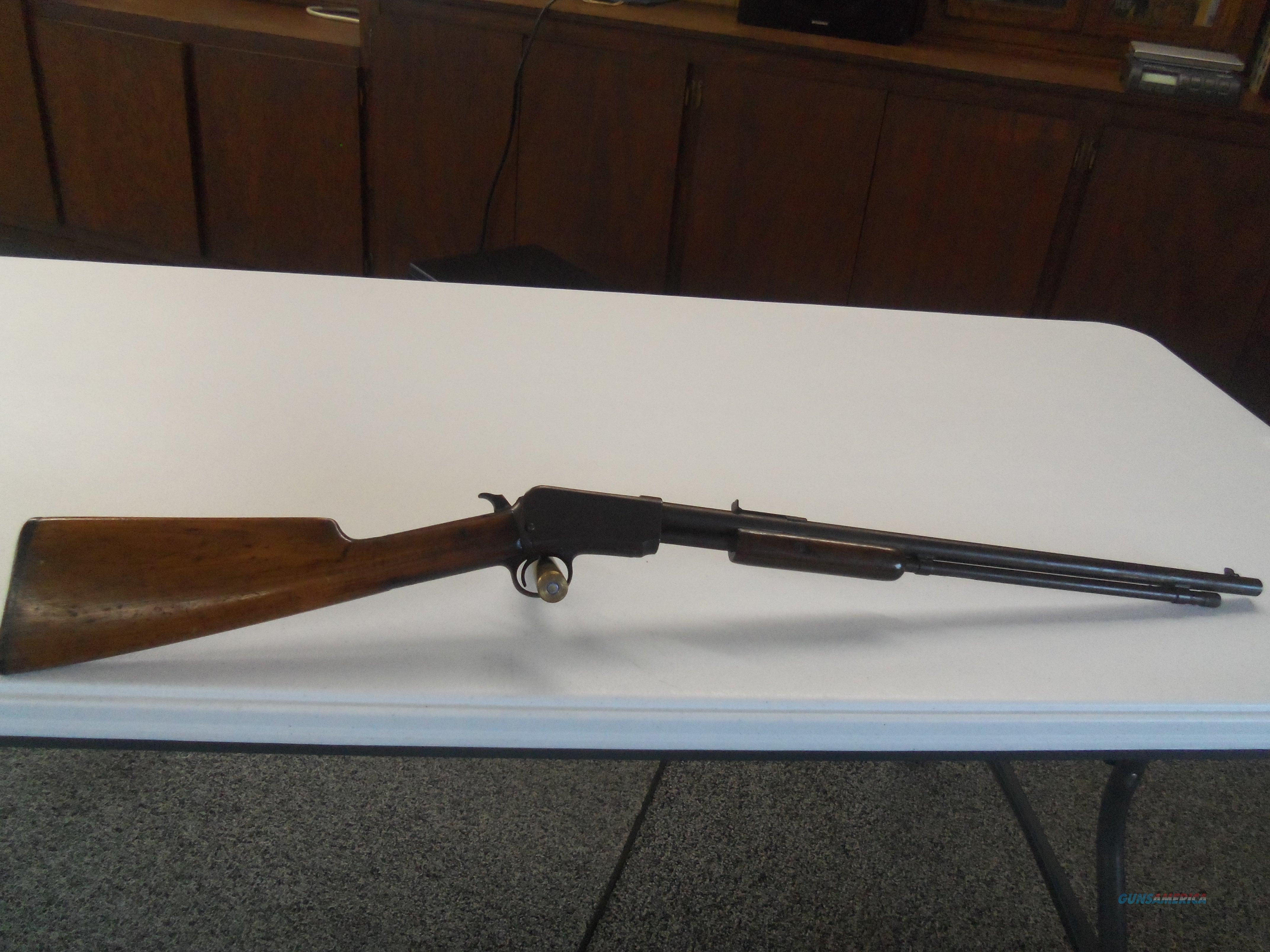 Reduced Winchester 1906 22 S/L/LR Pump Rifle  Guns > Rifles > Winchester Rifles - Pre-1899 Pump